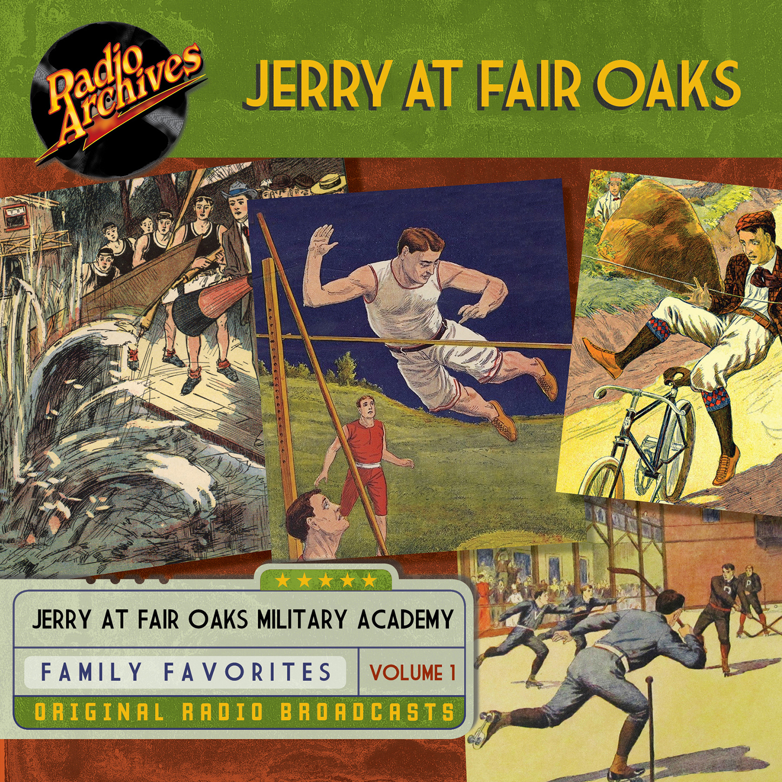 Printable Jerry at Fair Oaks, Volume 1 Audiobook Cover Art