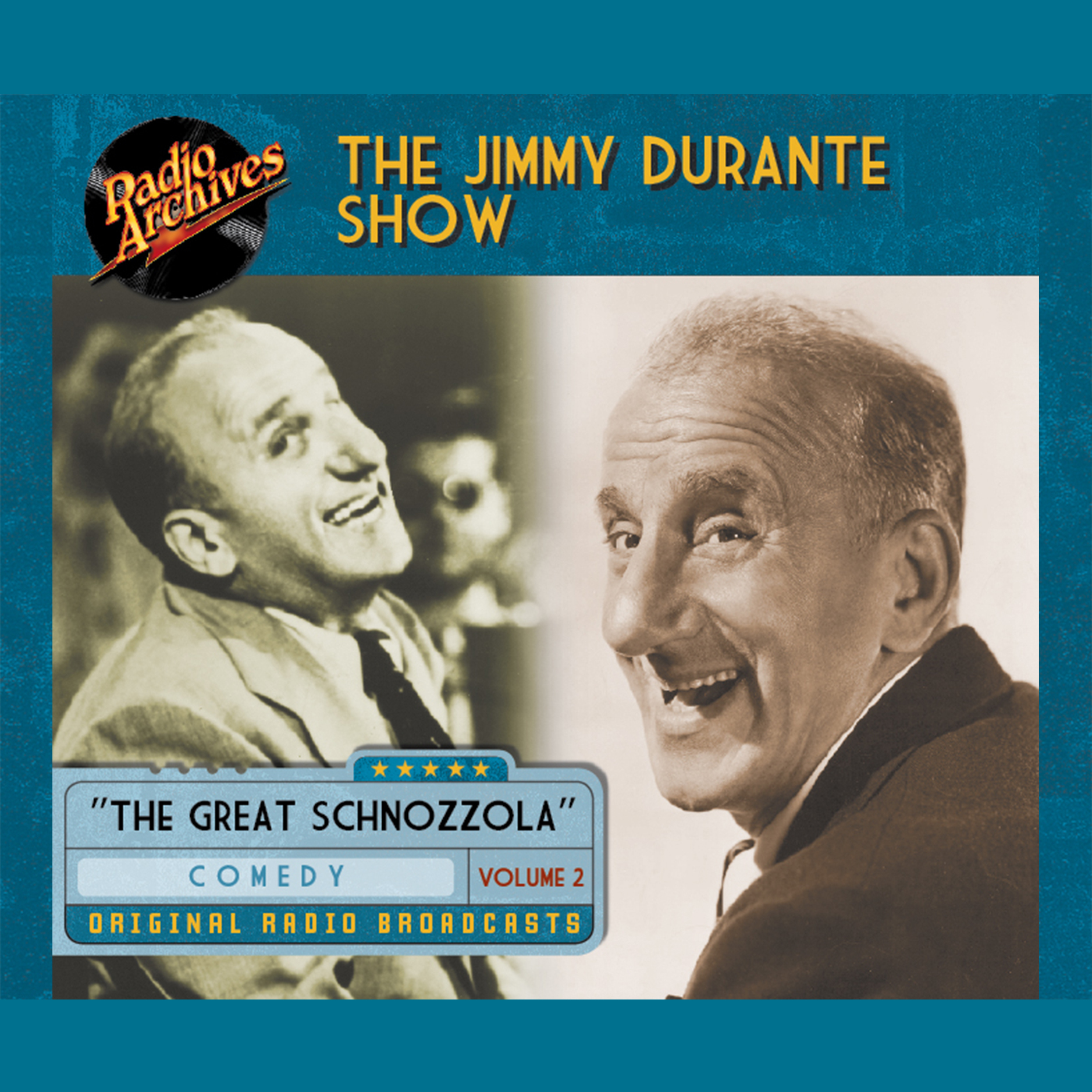 Printable Jimmy Durante Show, Volume 3 Audiobook Cover Art