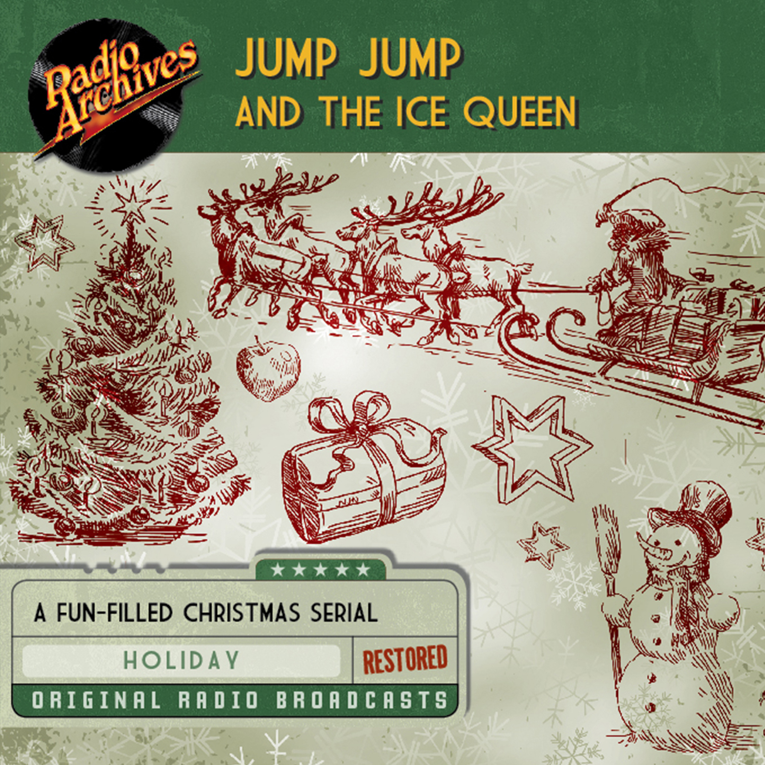 Printable Jump Jump and the Ice Queen Audiobook Cover Art