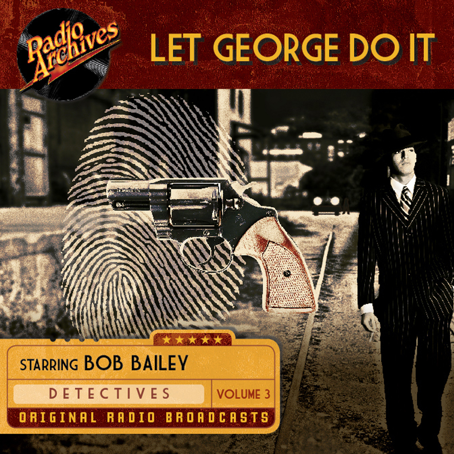 Printable Let George Do It, Volume 3 Audiobook Cover Art