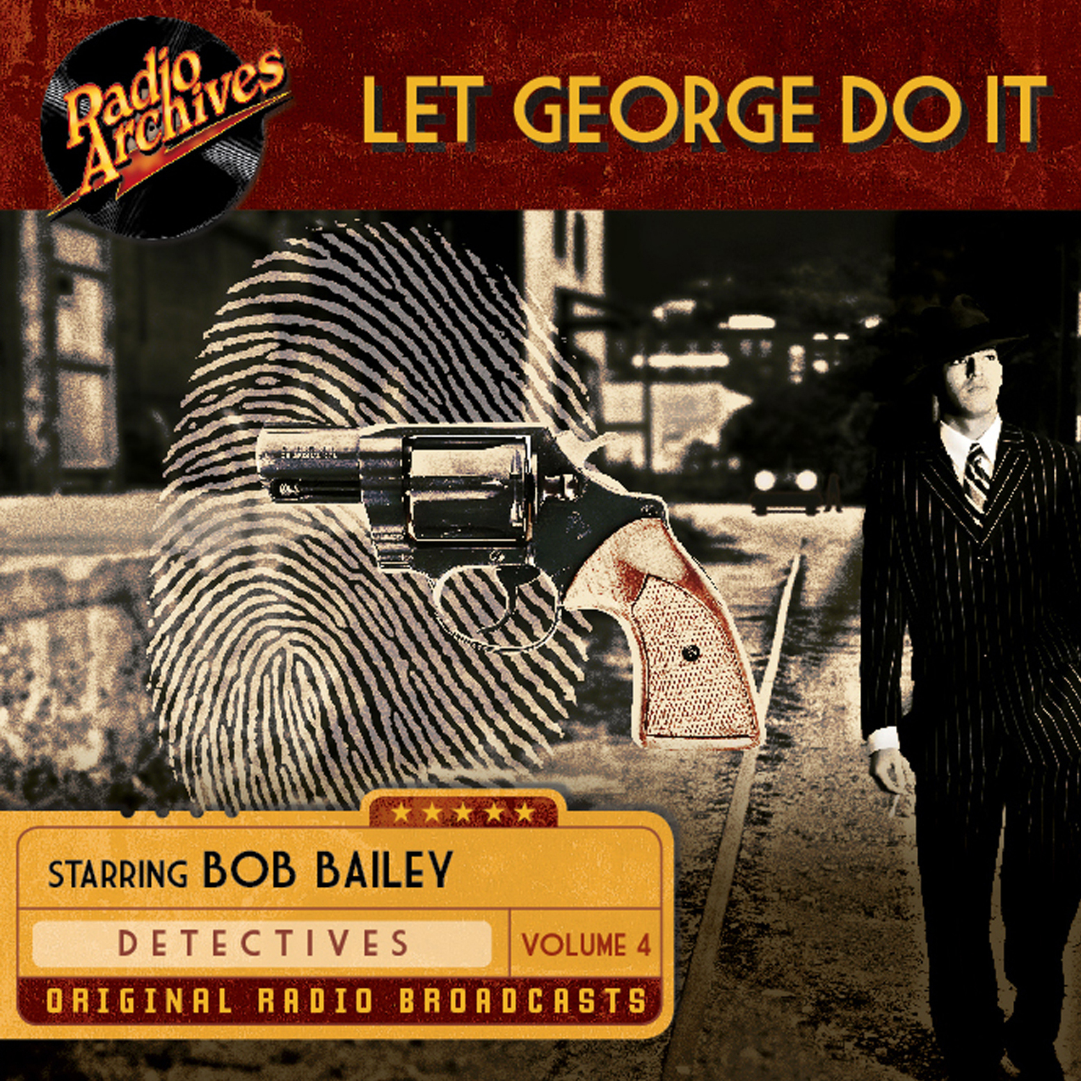 Printable Let George Do It, Volume 4 Audiobook Cover Art