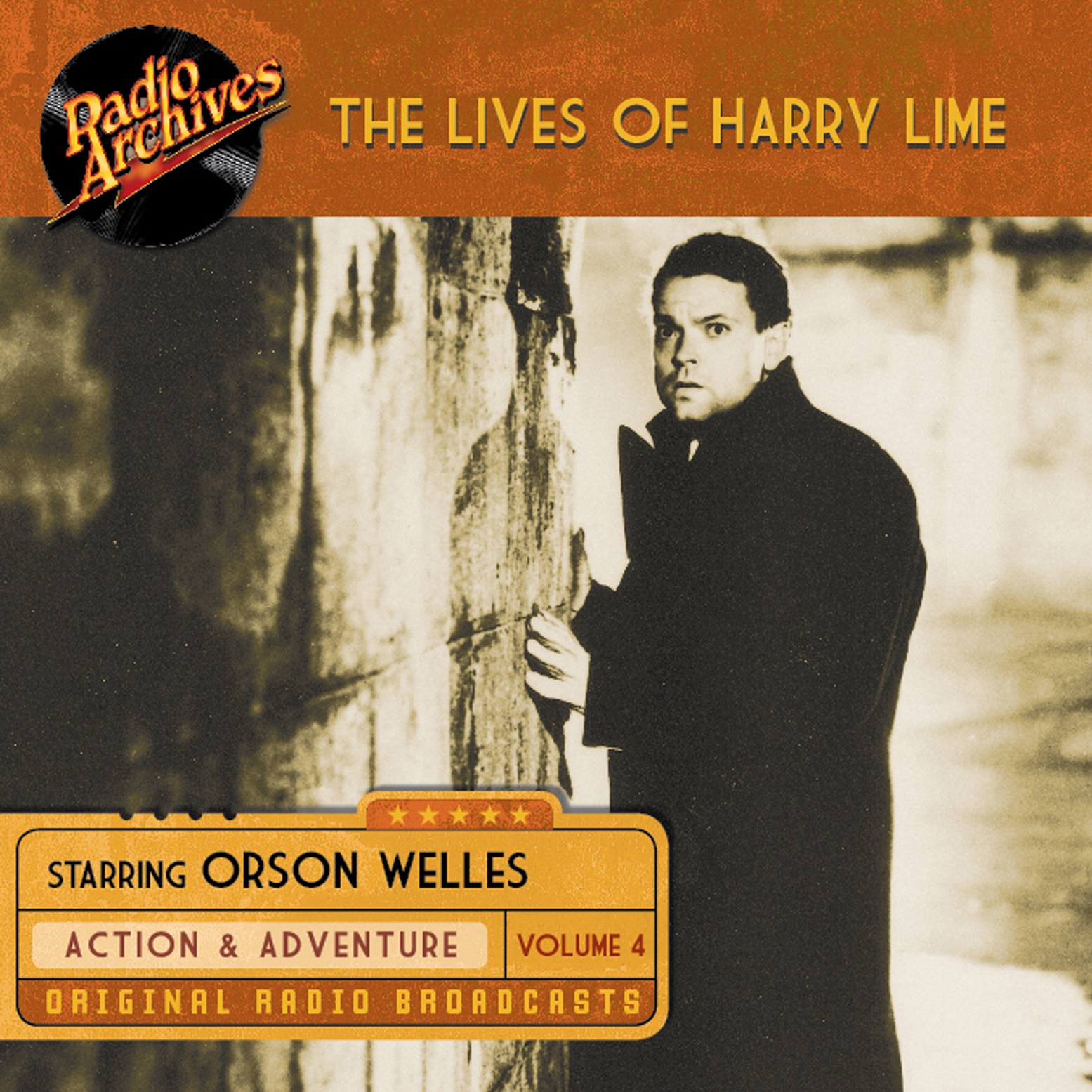 Printable Lives of Harry Lime, Volume 4 Audiobook Cover Art