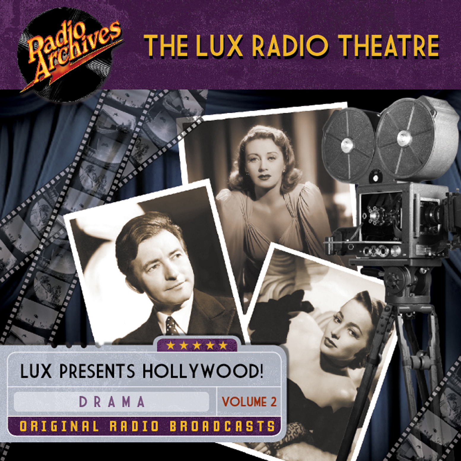 Printable Lux Radio Theatre Audiobook Cover Art