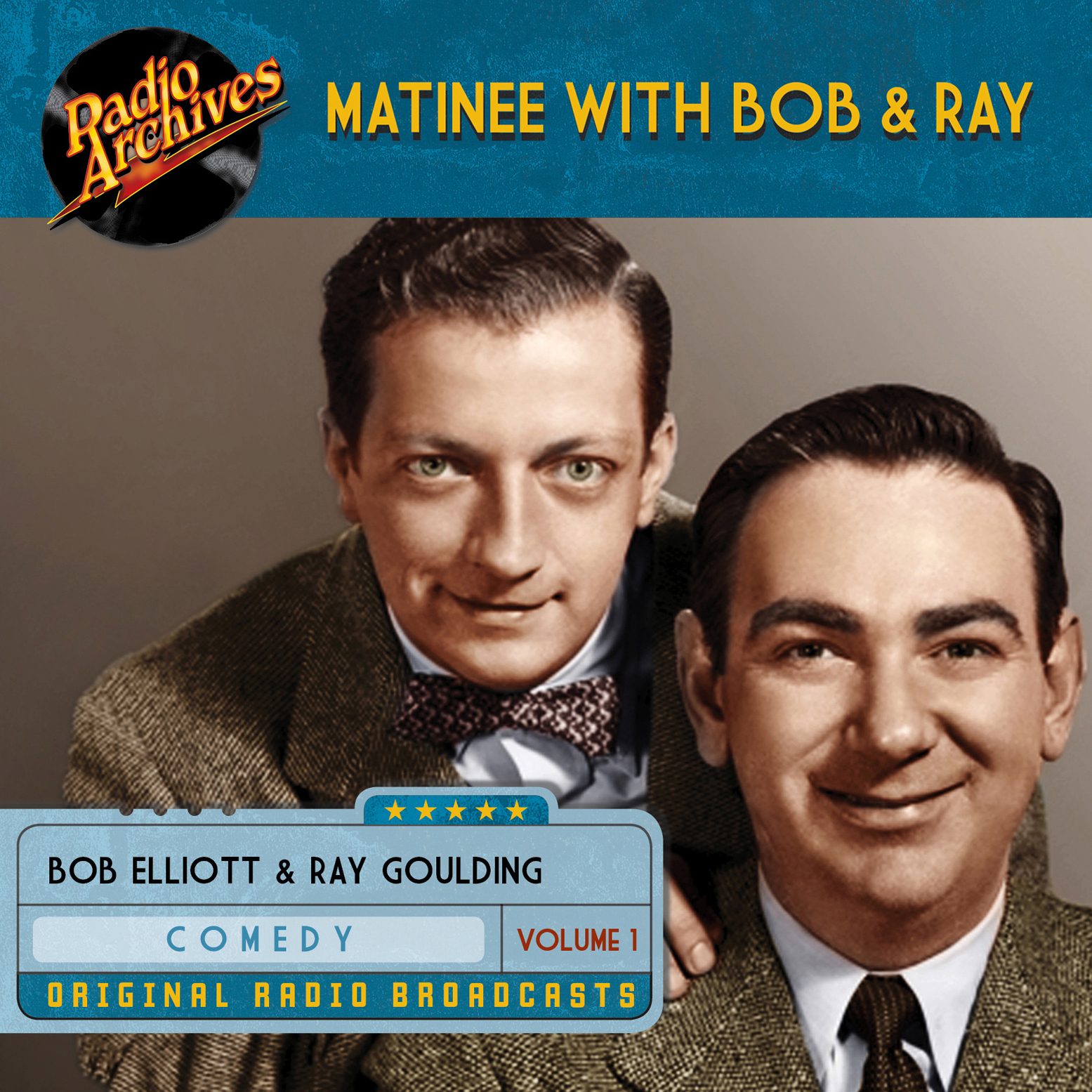 Printable Matinee with Bob & Ray, Volume 1 Audiobook Cover Art