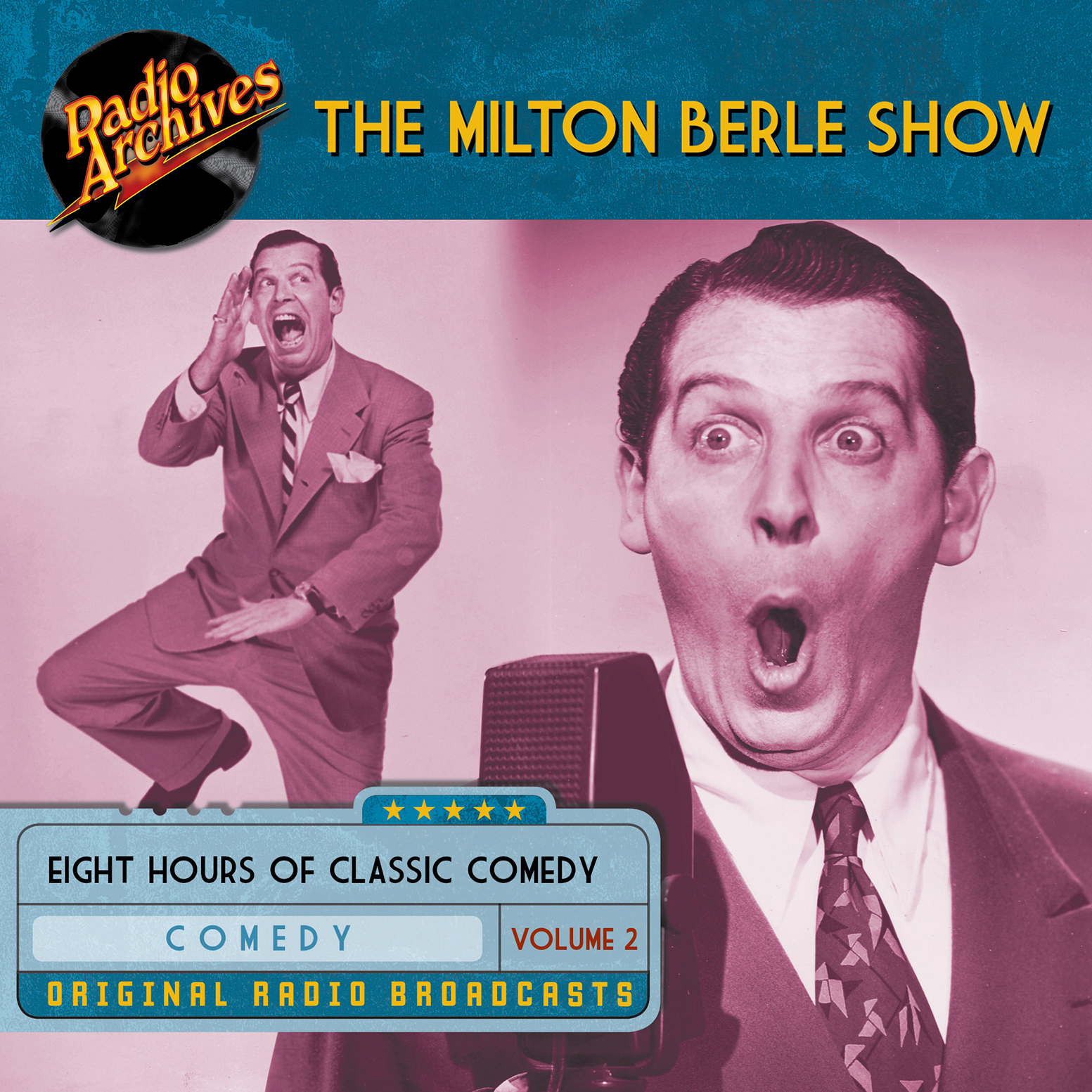Printable Milton Berle Show, Volume 2 Audiobook Cover Art