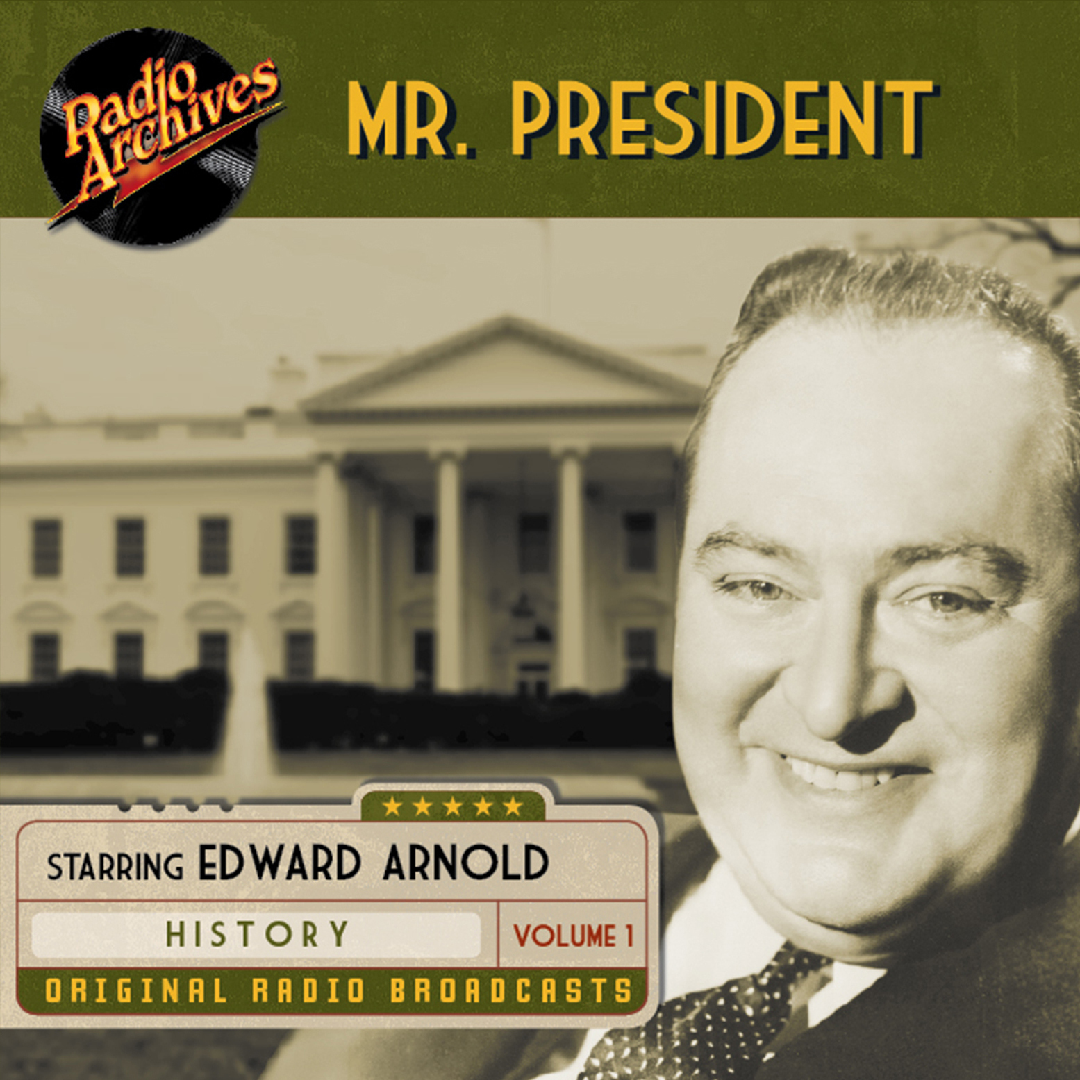 Printable Mr. President, Volume 1 Audiobook Cover Art