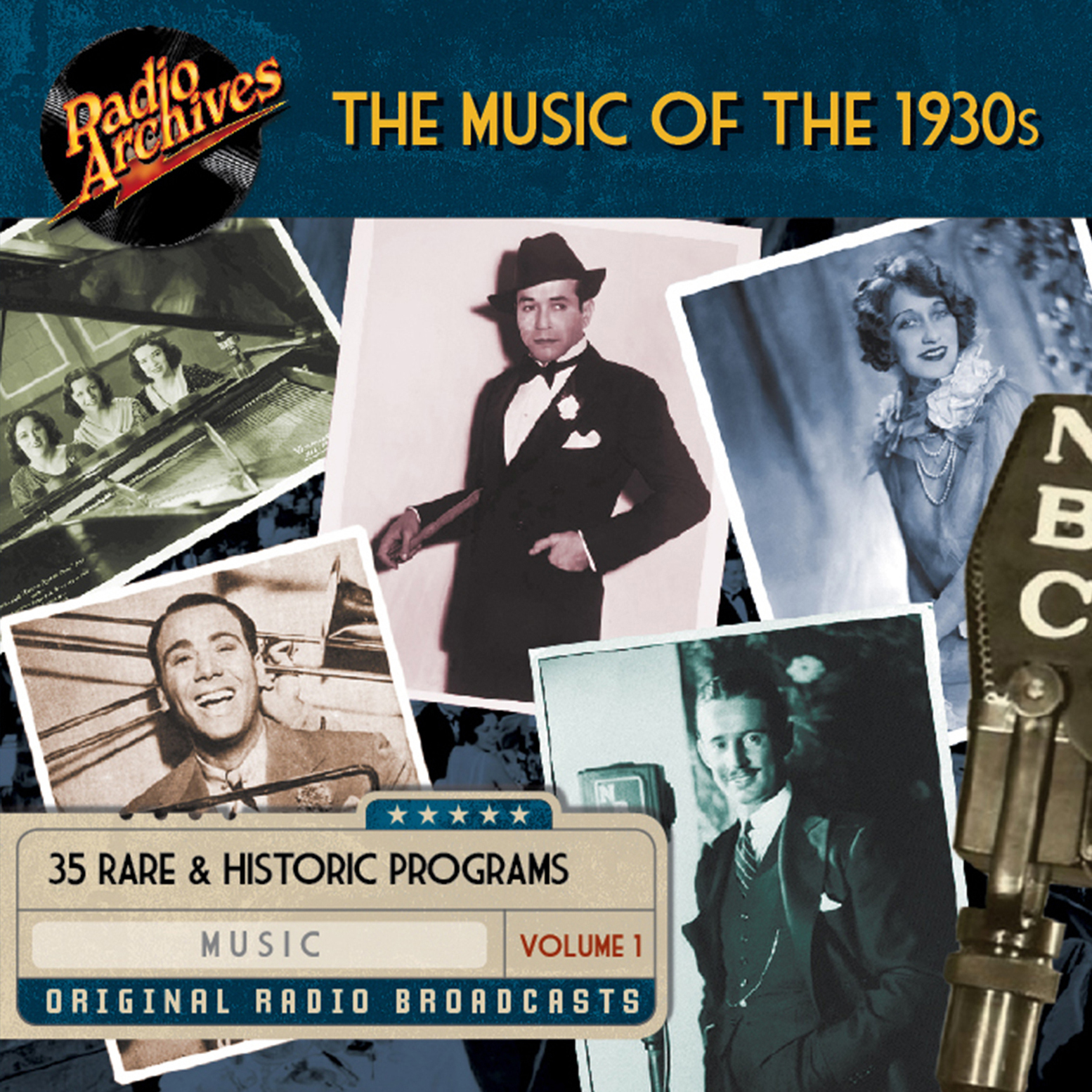 Printable Music of the 1930s, Volume 1 Audiobook Cover Art