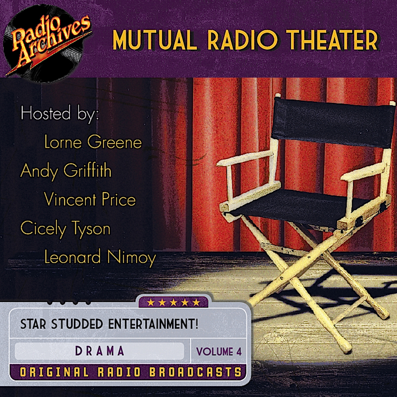 Printable Mutual Radio Theater, Volume 4 Audiobook Cover Art