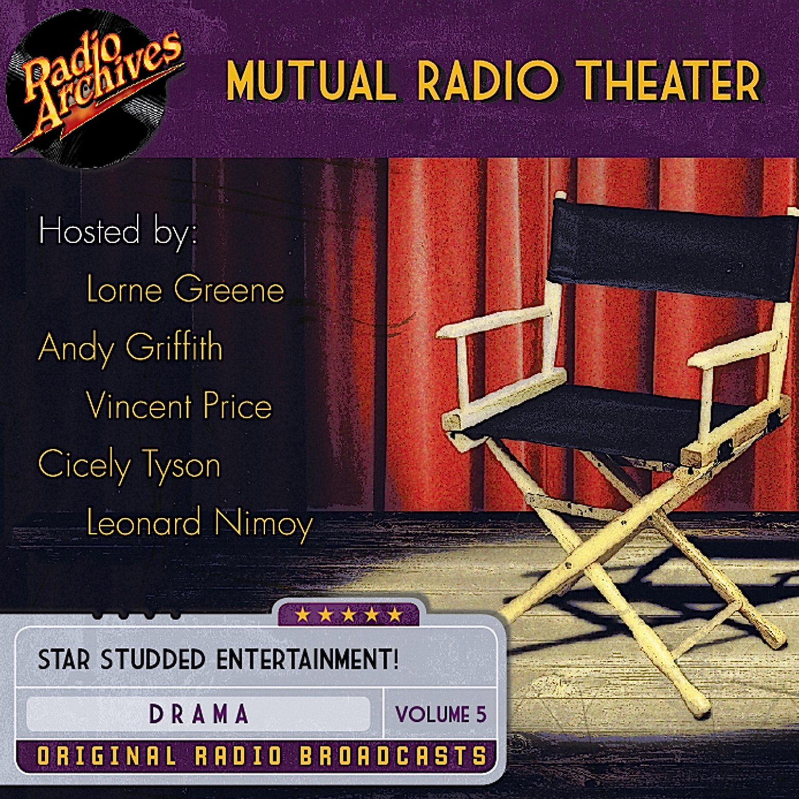 Printable Mutual Radio Theater, Volume 5 Audiobook Cover Art