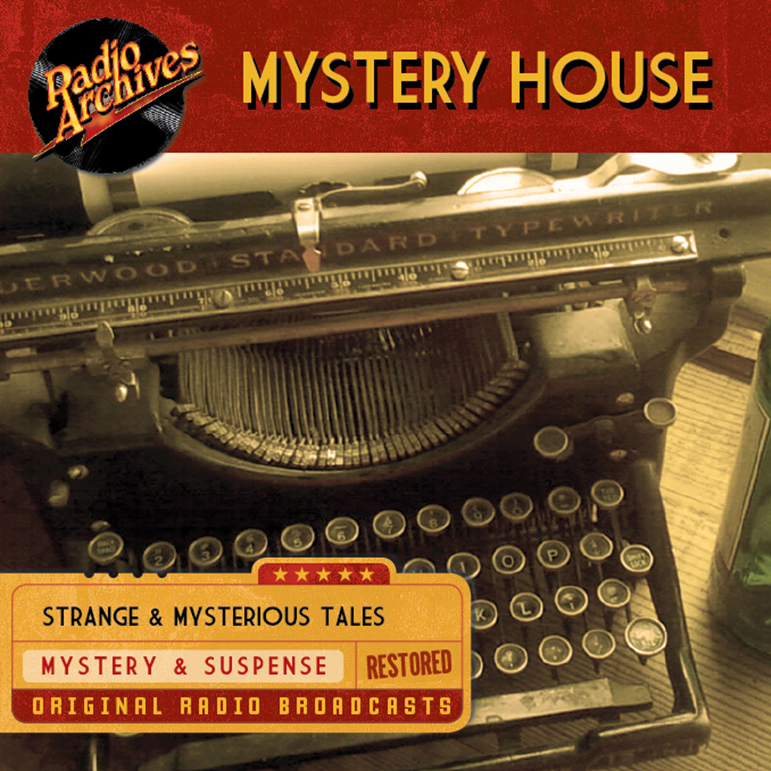 Printable Mystery House Audiobook Cover Art