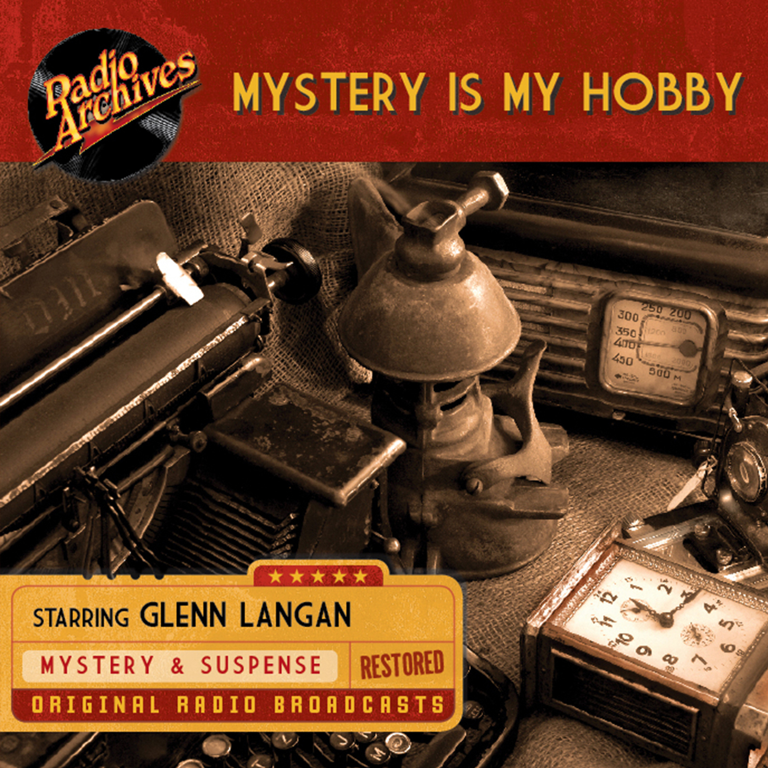Printable Mystery Is My Hobby Audiobook Cover Art