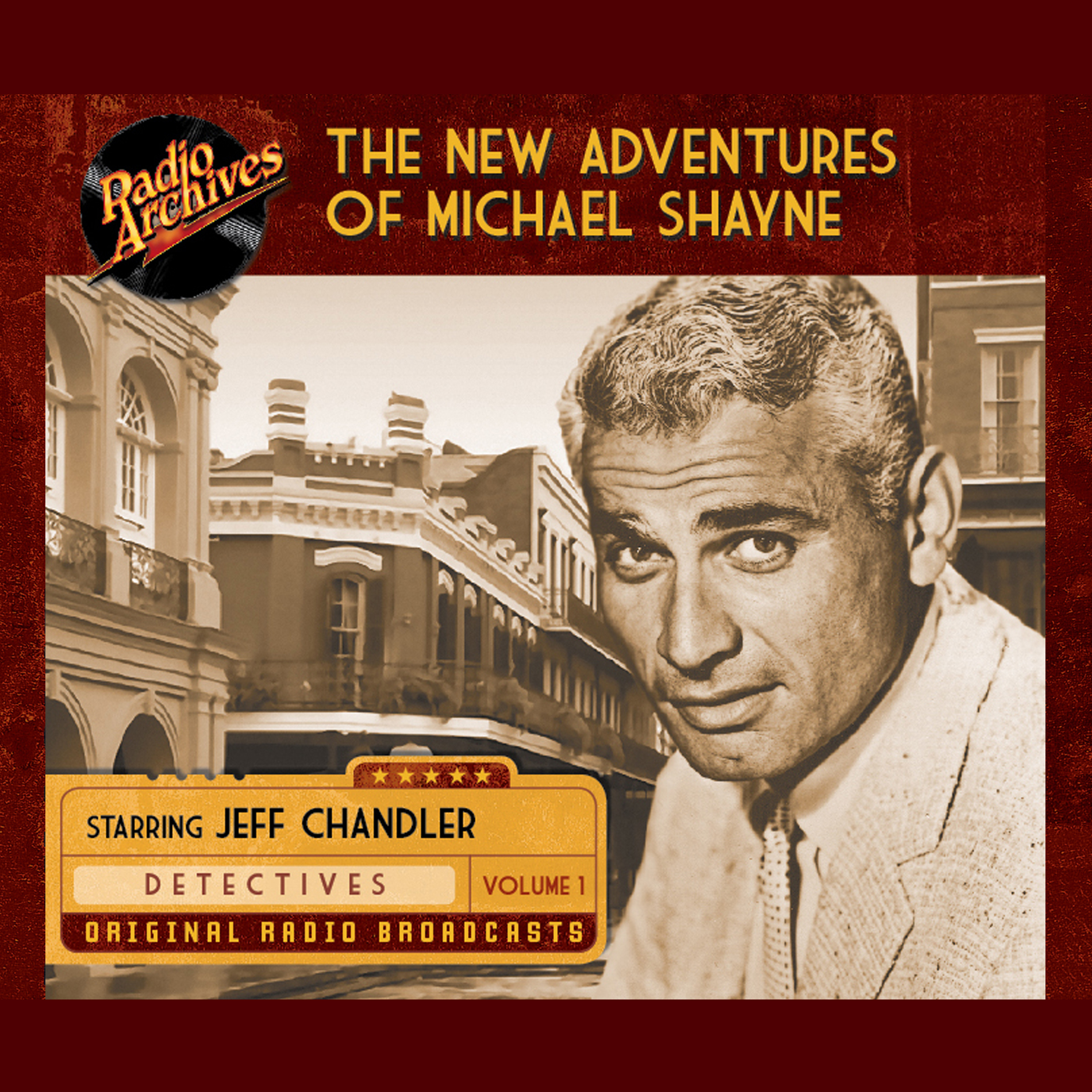 Printable New Adventures of Michael Shayne, Volume 1 Audiobook Cover Art
