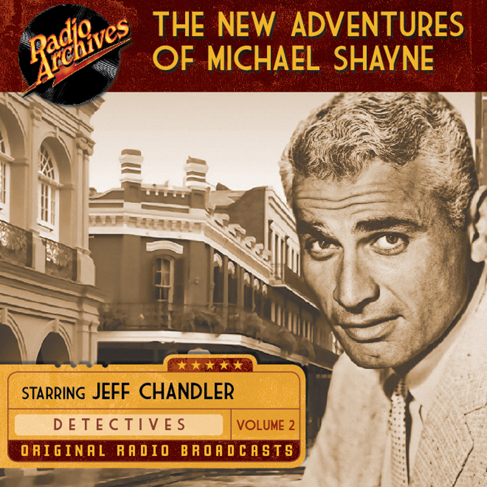 Printable New Adventures of Michael Shayne, Volume 2 Audiobook Cover Art