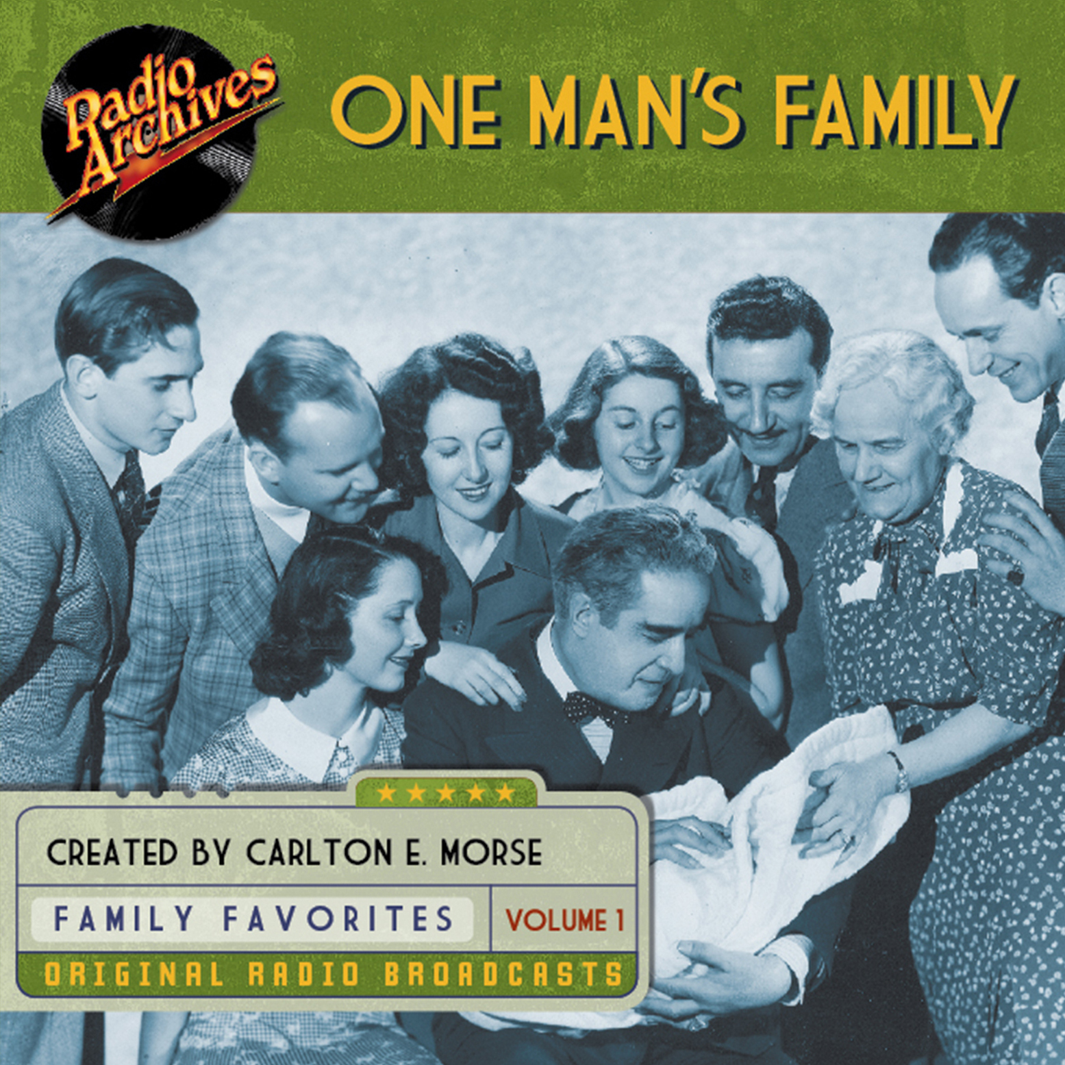 Printable One Man's Family, Volume 1 Audiobook Cover Art