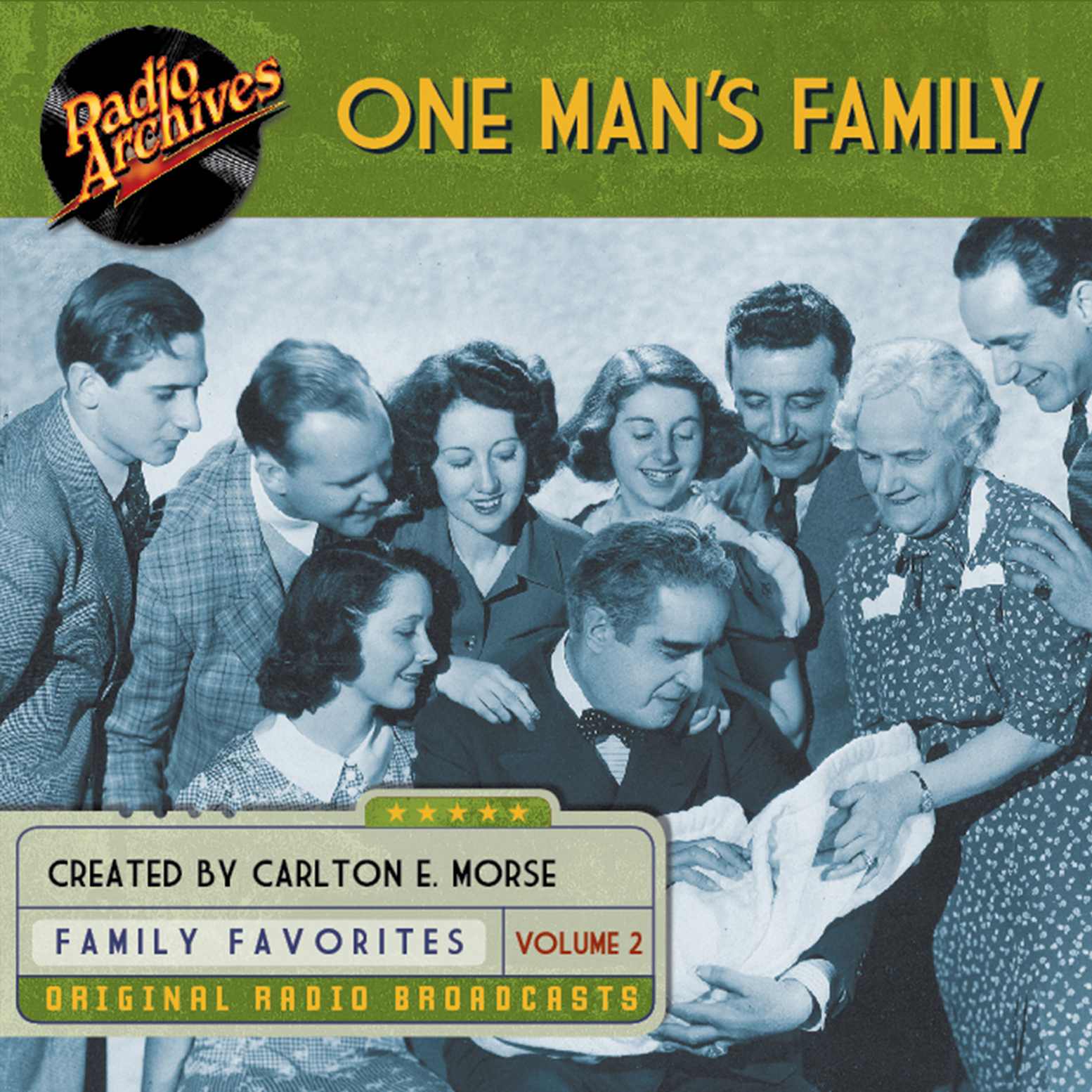 Printable One Man's Family, Volume 2 Audiobook Cover Art