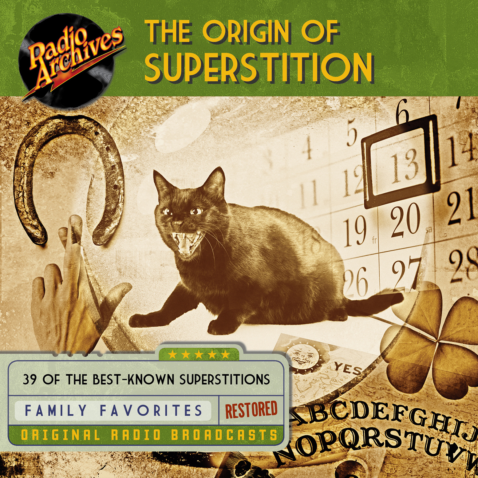 Printable Origin of Superstition Audiobook Cover Art