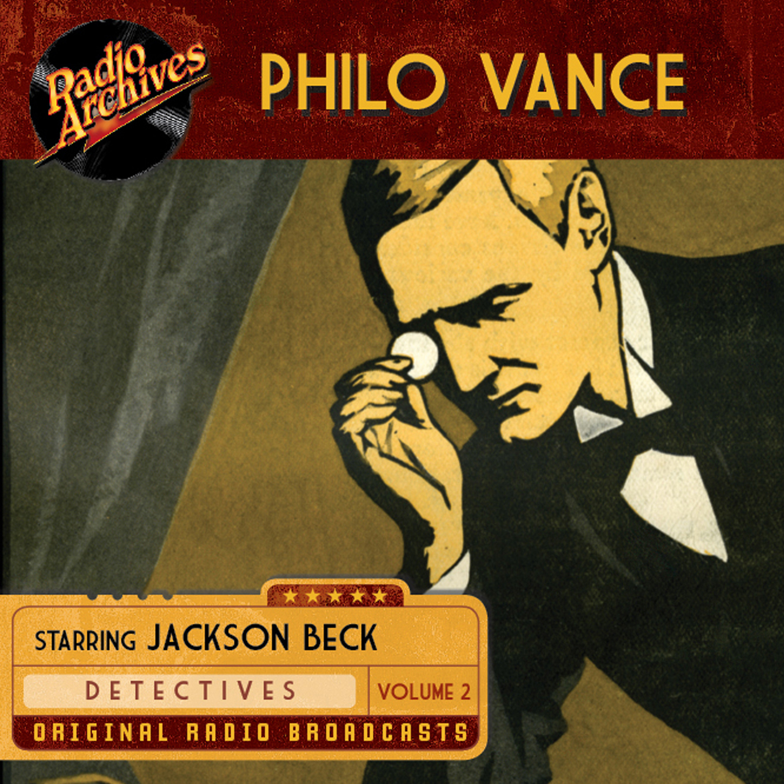 Printable Philo Vance, Vol. 2 Audiobook Cover Art