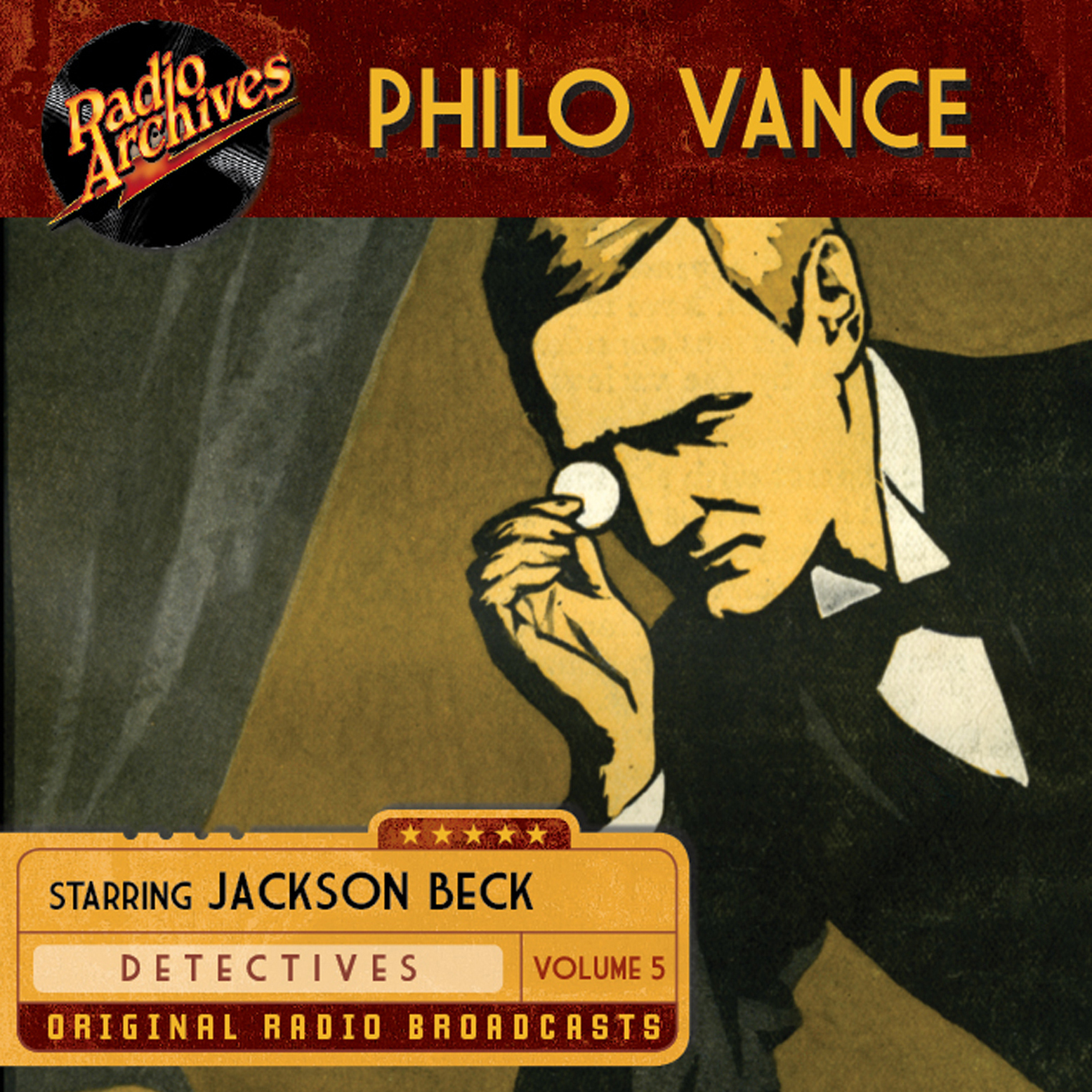 Printable Philo Vance, Vol. 5 Audiobook Cover Art
