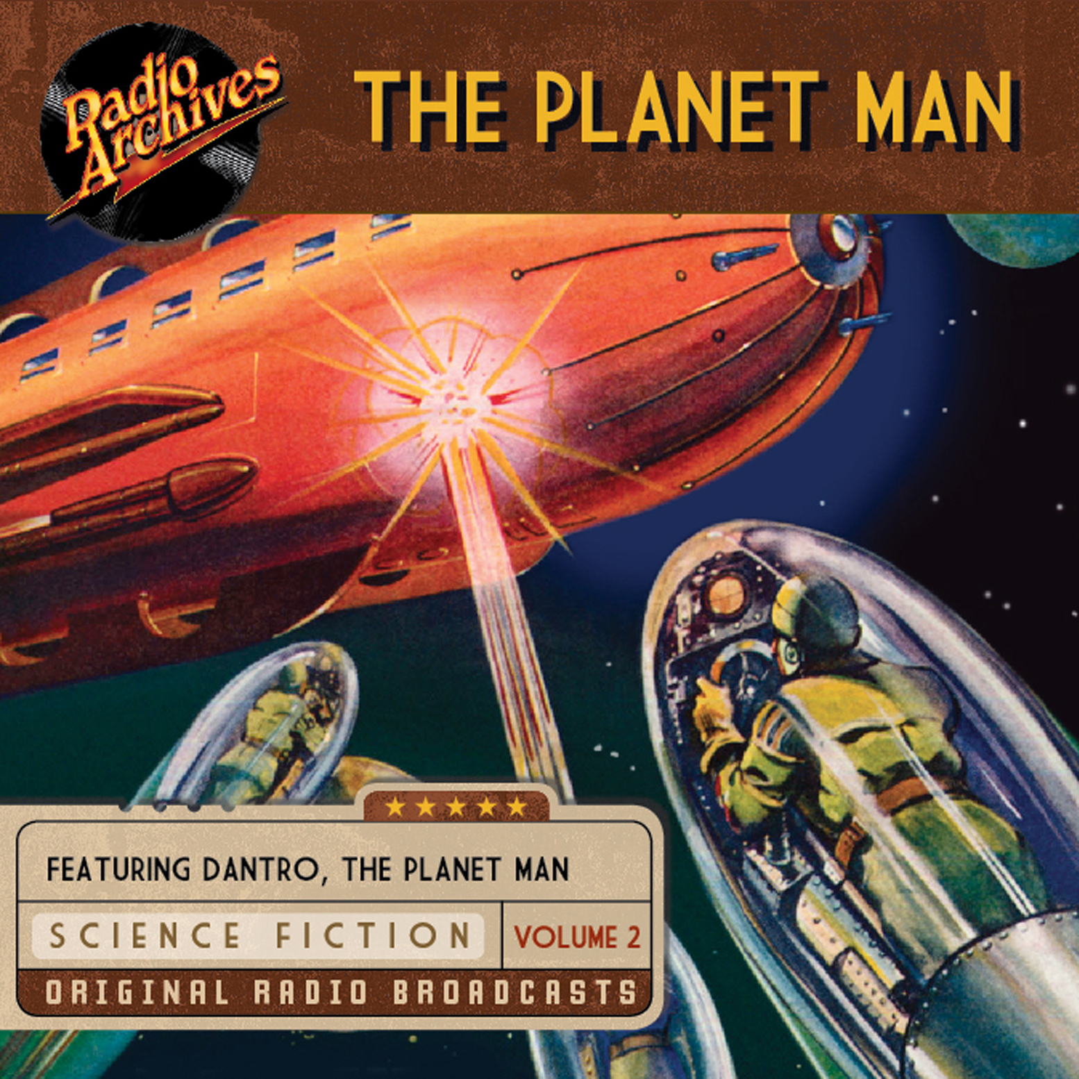 Printable Planet Man, Volume 2 Audiobook Cover Art