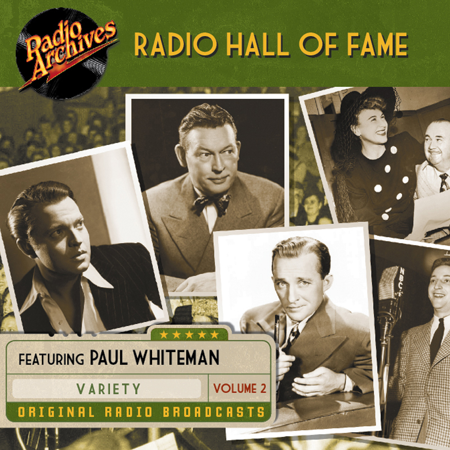 Printable Radio Hall of Fame, Volume 2 Audiobook Cover Art