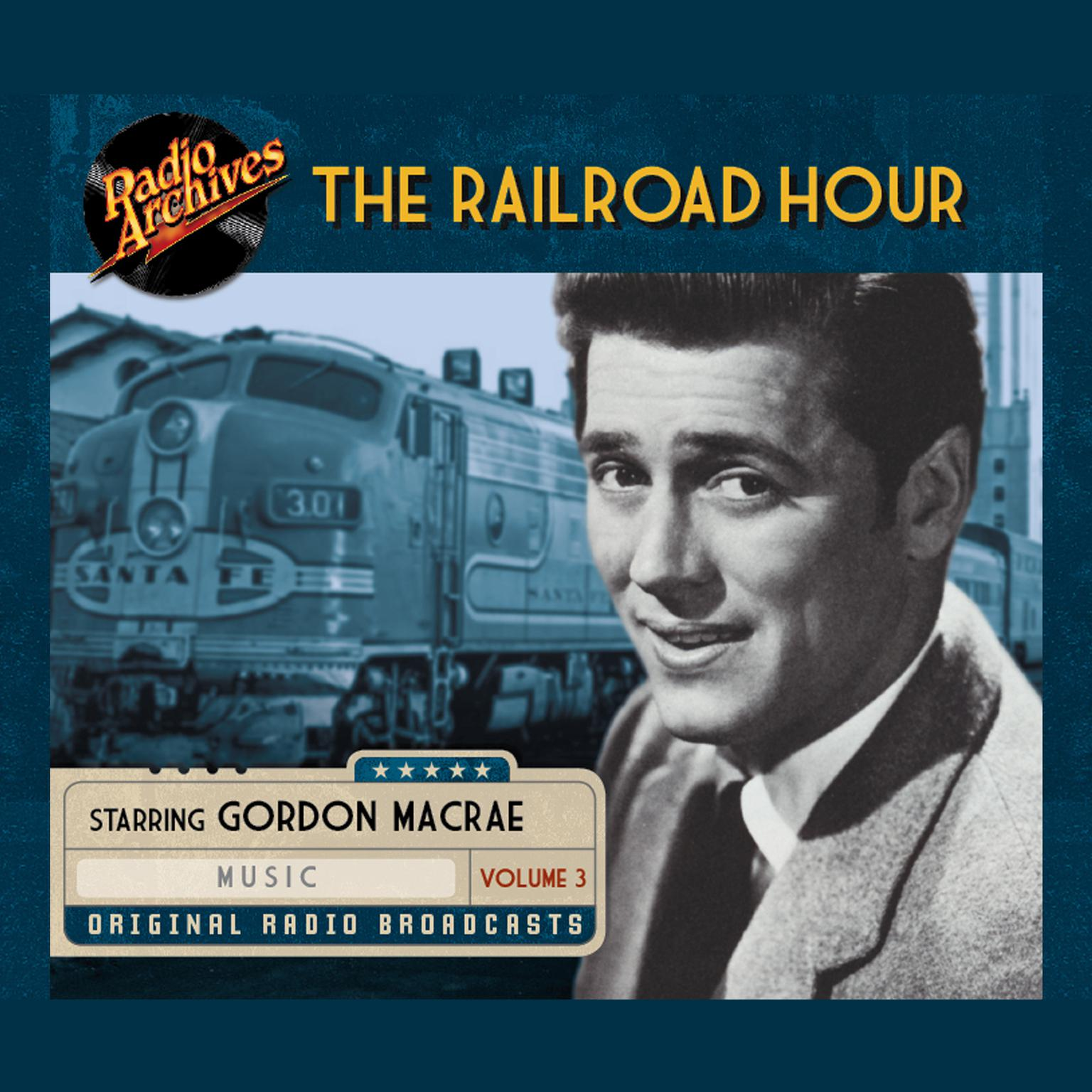 Printable Railroad Hour, Volume 3 Audiobook Cover Art