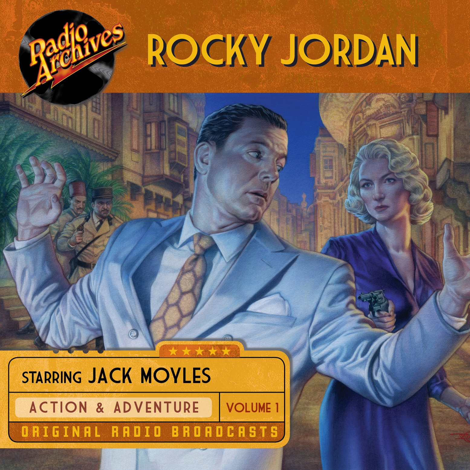 Printable Rocky Jordan, Volume 1 Audiobook Cover Art