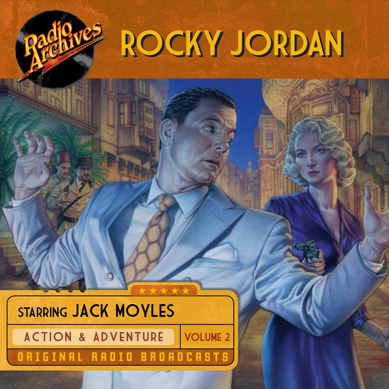 Printable Rocky Jordan, Volume 2 Audiobook Cover Art