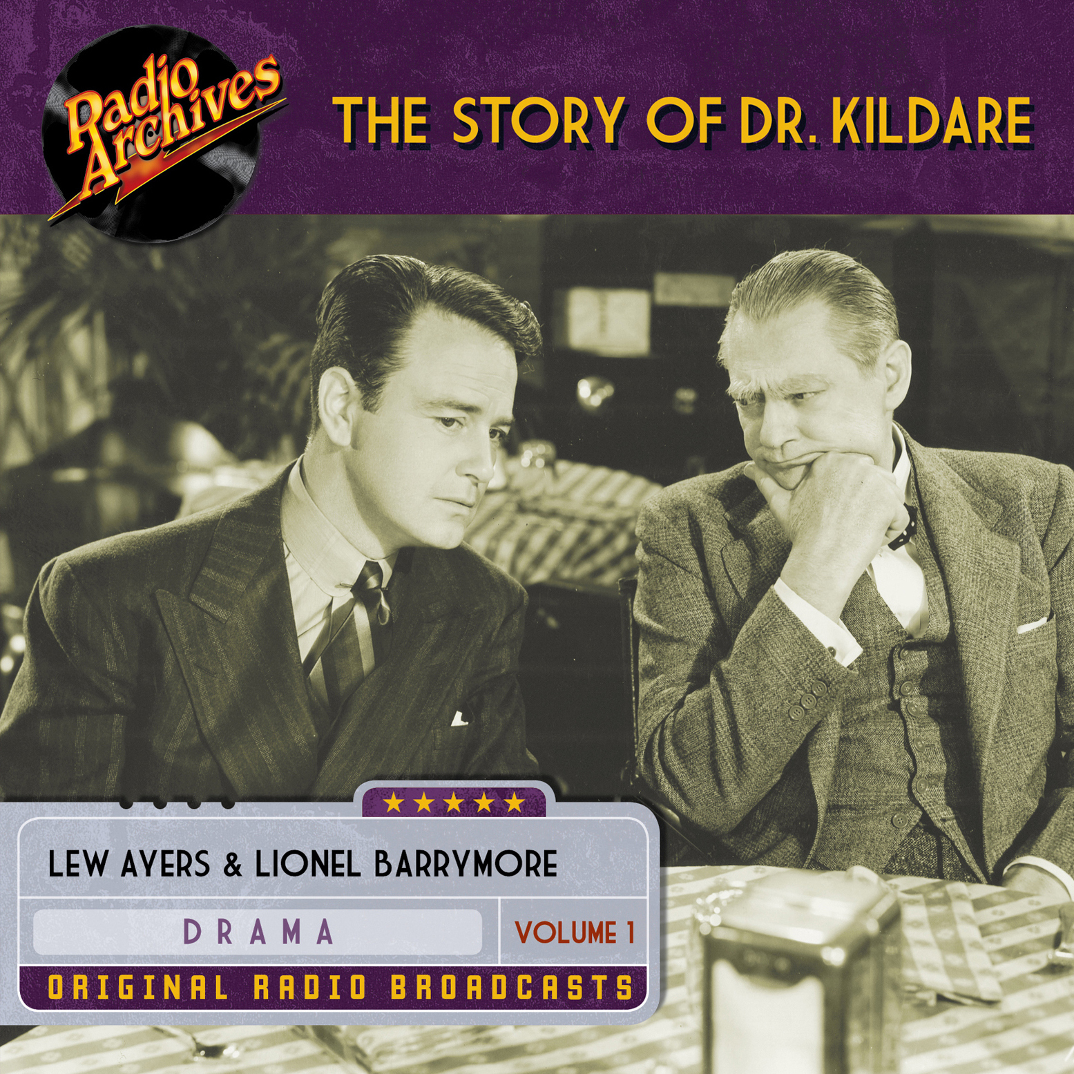 Printable Story of Dr. Kildare, Volume 1 Audiobook Cover Art