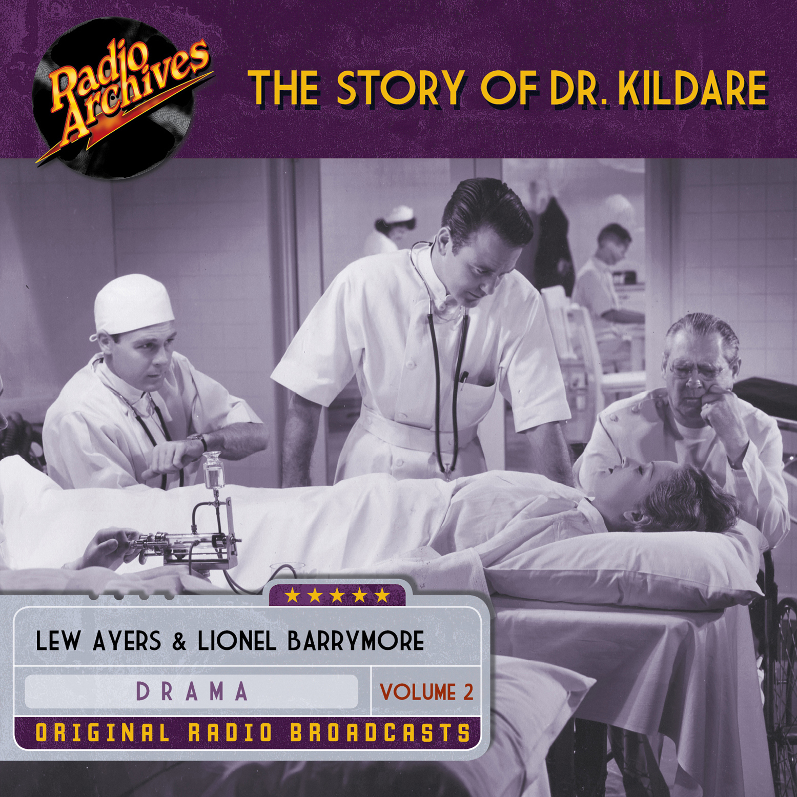 Printable Story of Dr. Kildare, Volume 2 Audiobook Cover Art