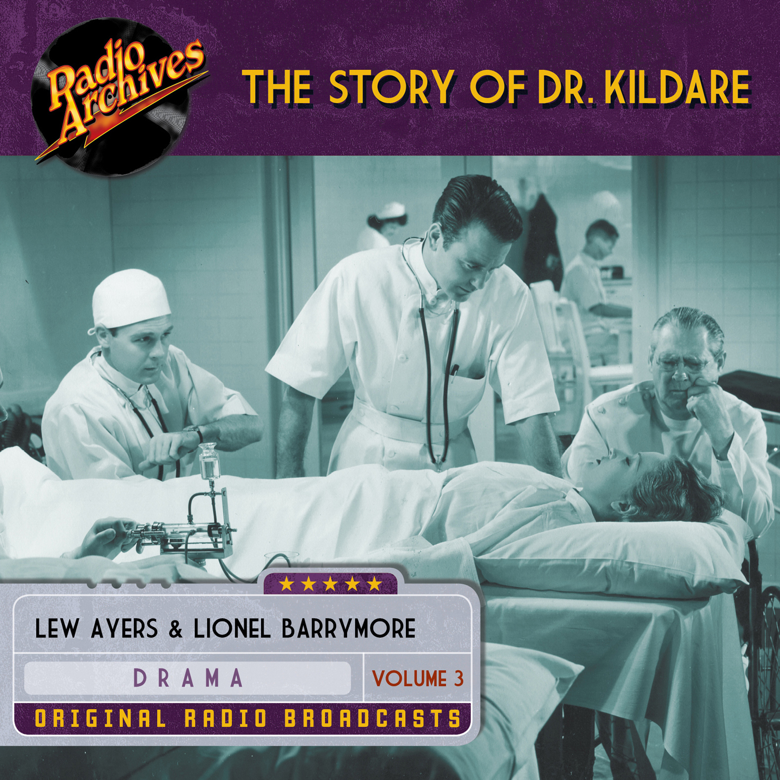 Printable Story of Dr. Kildare, Volume 3 Audiobook Cover Art