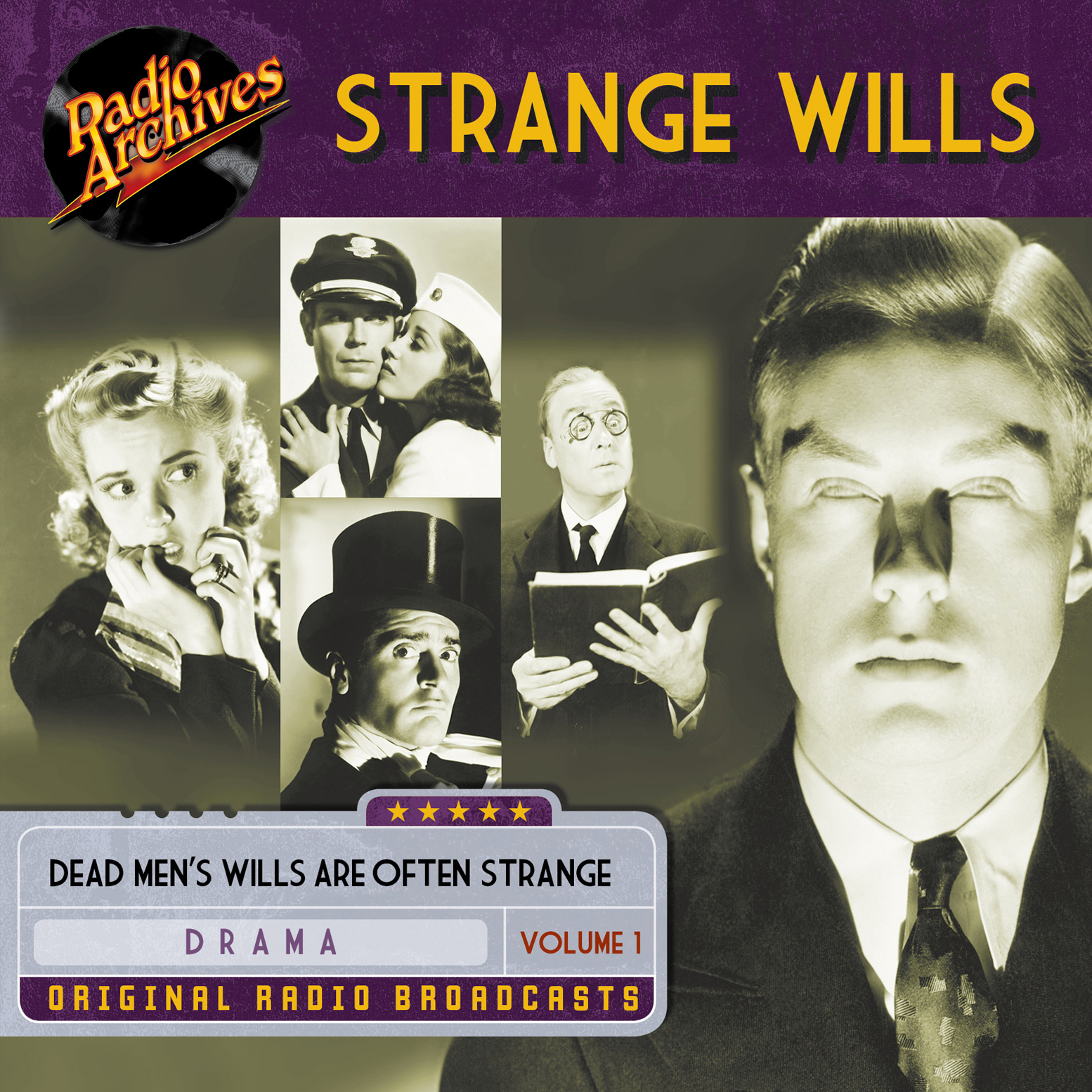 Printable Strange Wills, Volume 1 Audiobook Cover Art