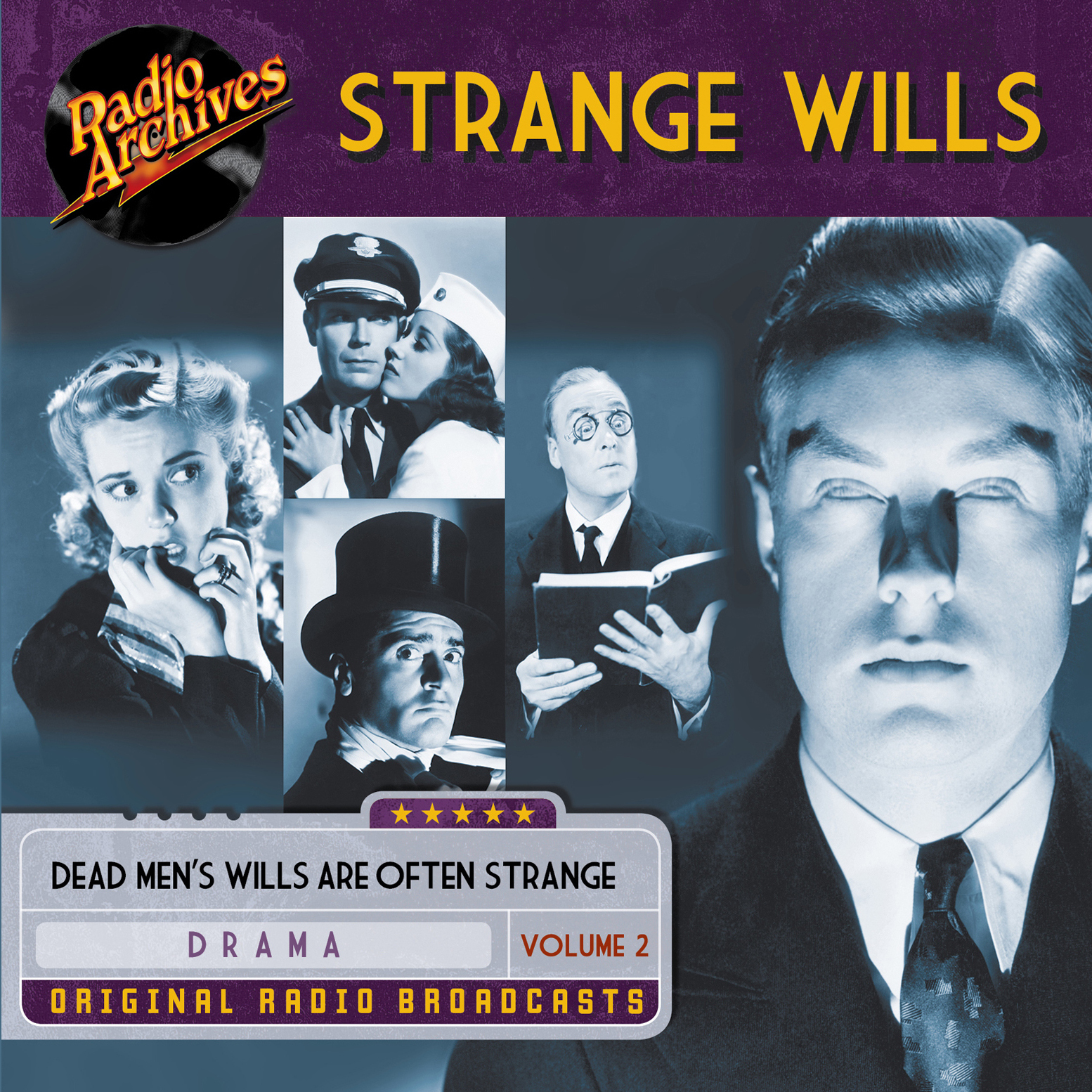 Printable Strange Wills, Volume 2 Audiobook Cover Art