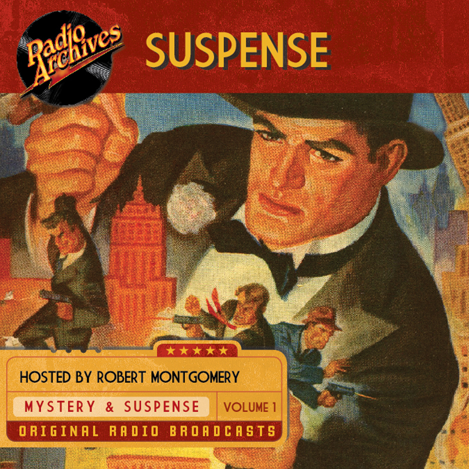 Printable Suspense, Volume 1 Audiobook Cover Art