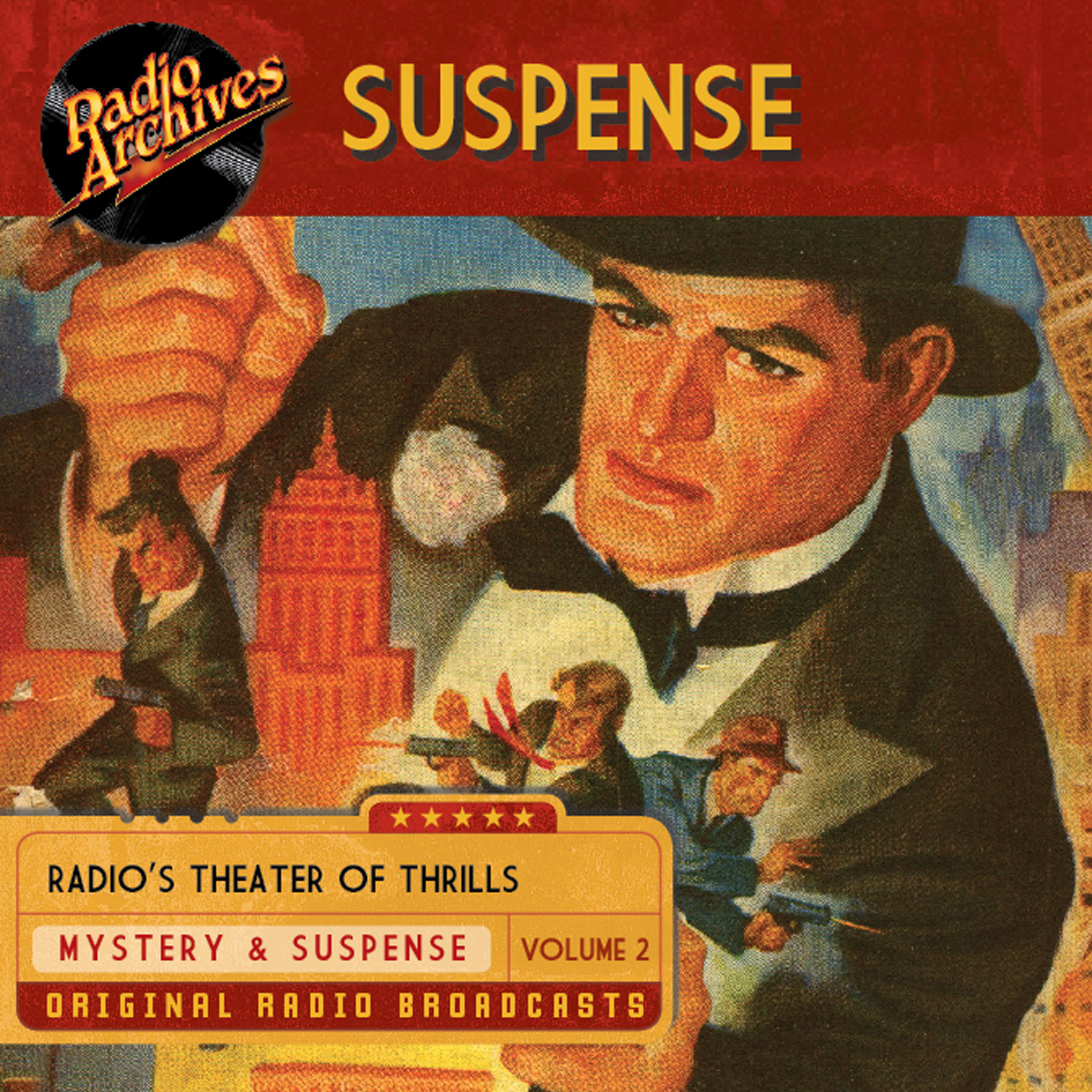 Printable Suspense, Volume 2 Audiobook Cover Art