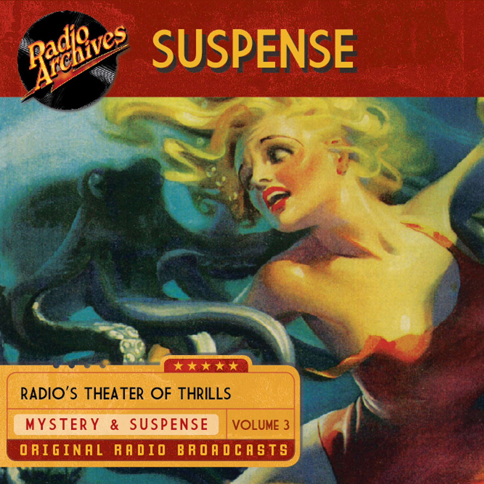 Printable Suspense, Volume 3 Audiobook Cover Art
