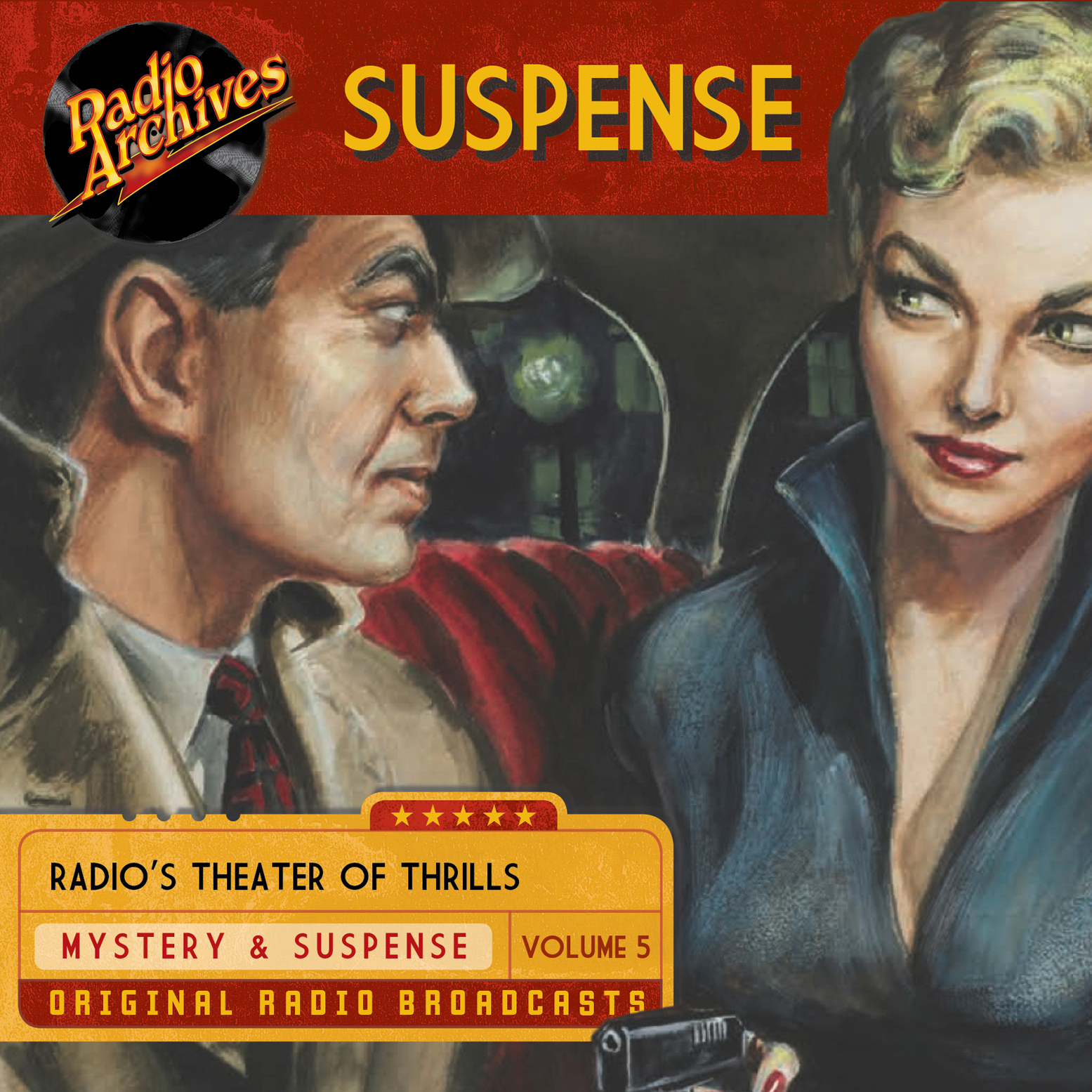 Printable Suspense, Volume 5 Audiobook Cover Art