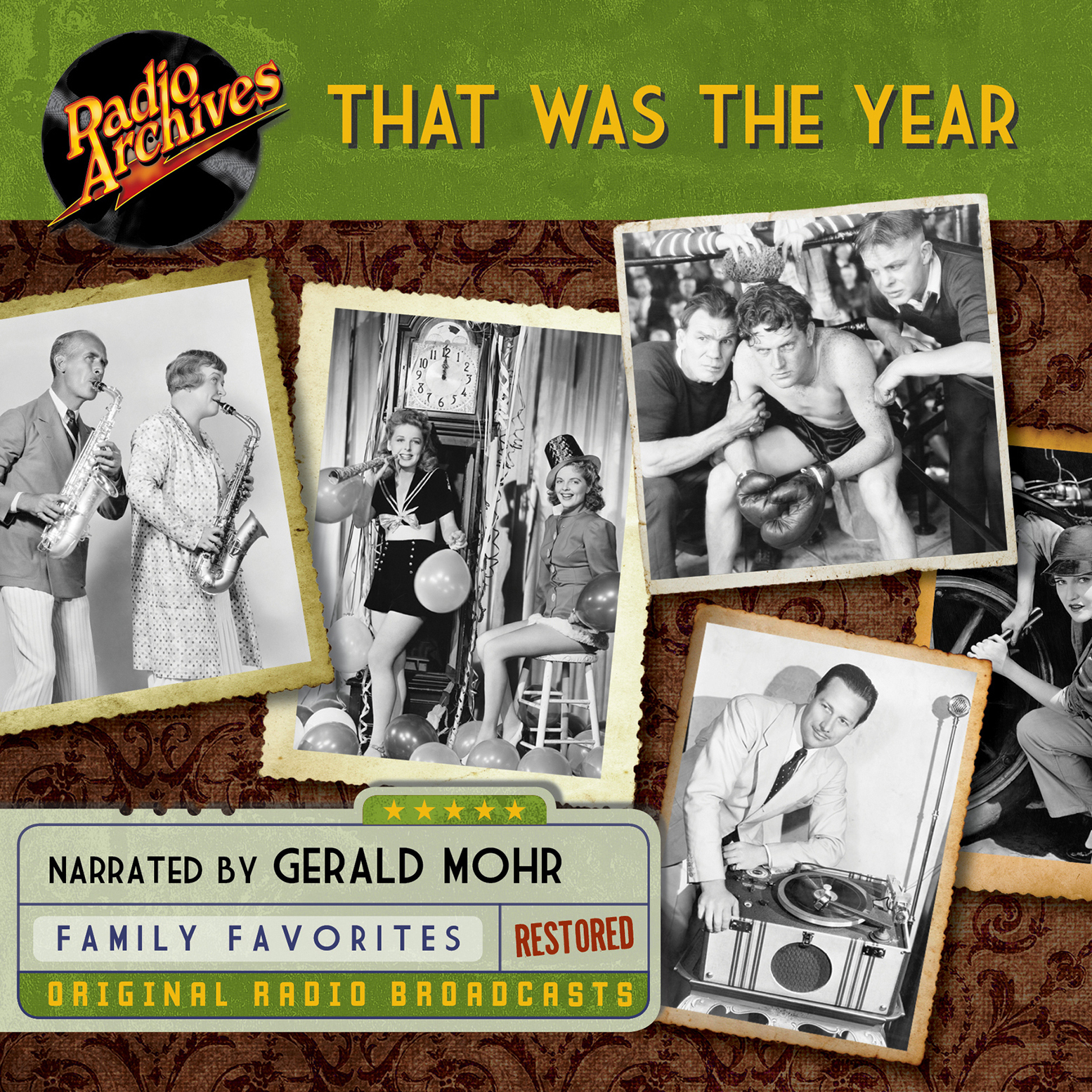 Printable That Was the Year Audiobook Cover Art