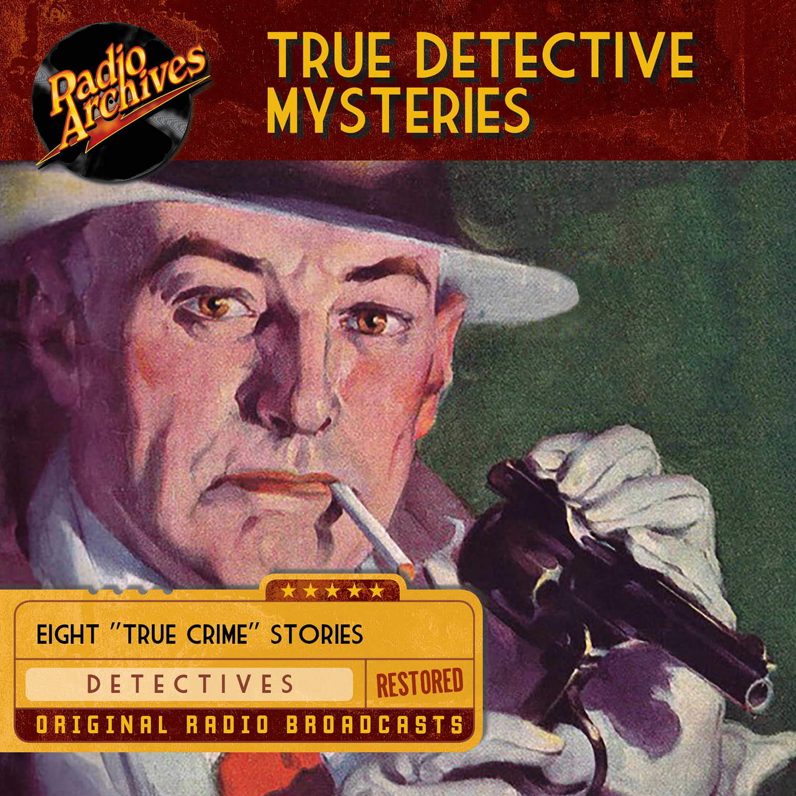 Printable True Detective Mysteries Audiobook Cover Art