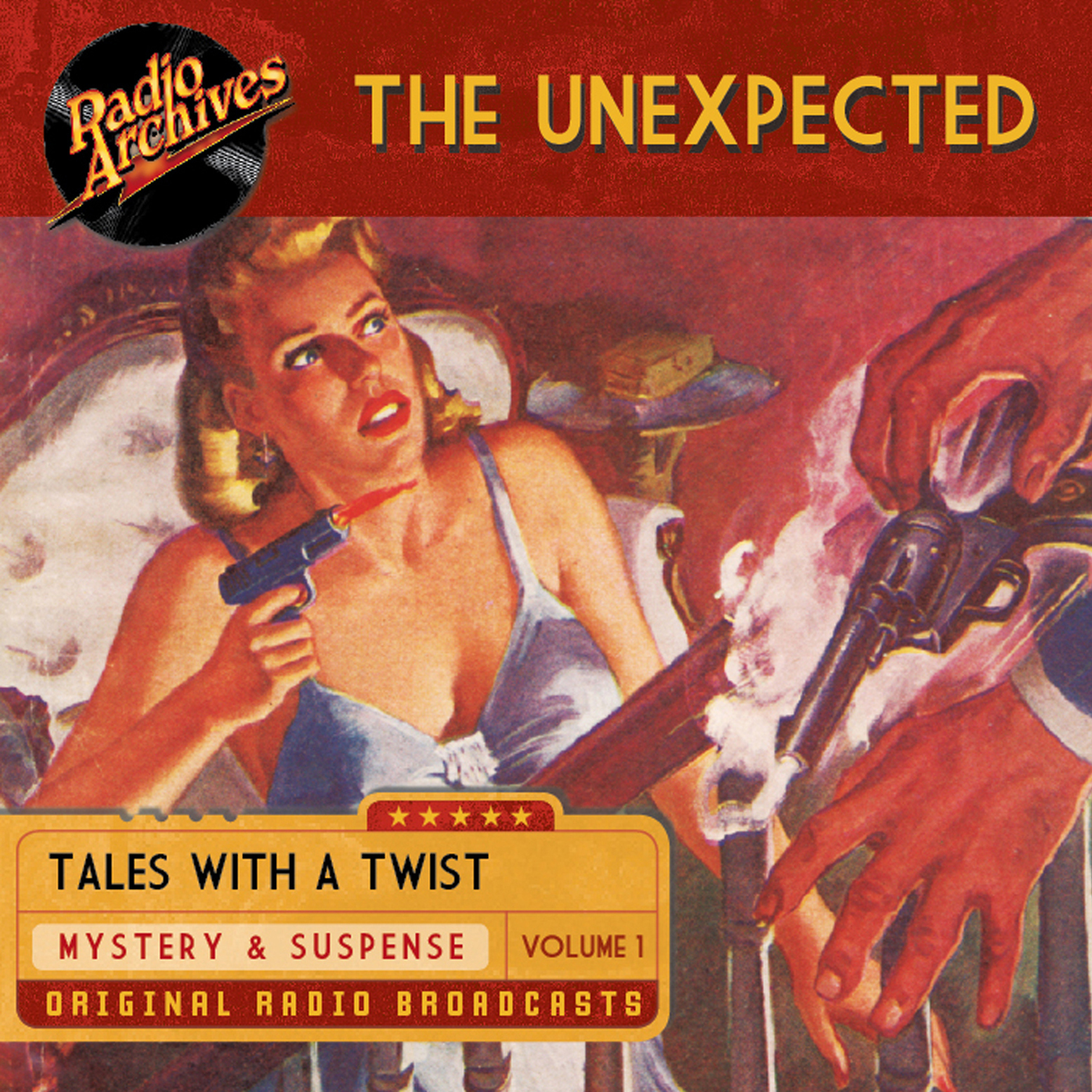 Printable The Unexpected, Volume 1 Audiobook Cover Art