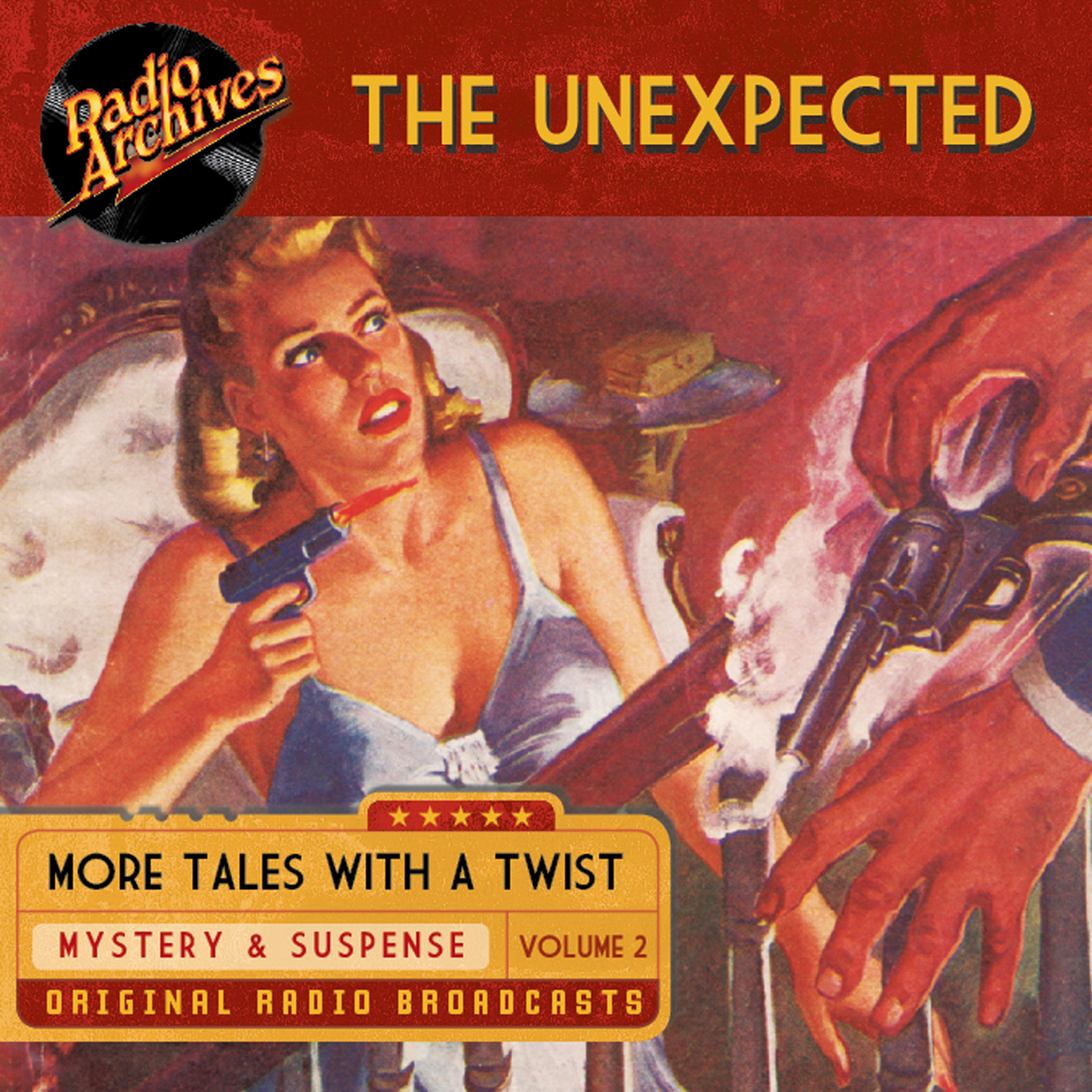 Printable Unexpected, Volume 2 Audiobook Cover Art