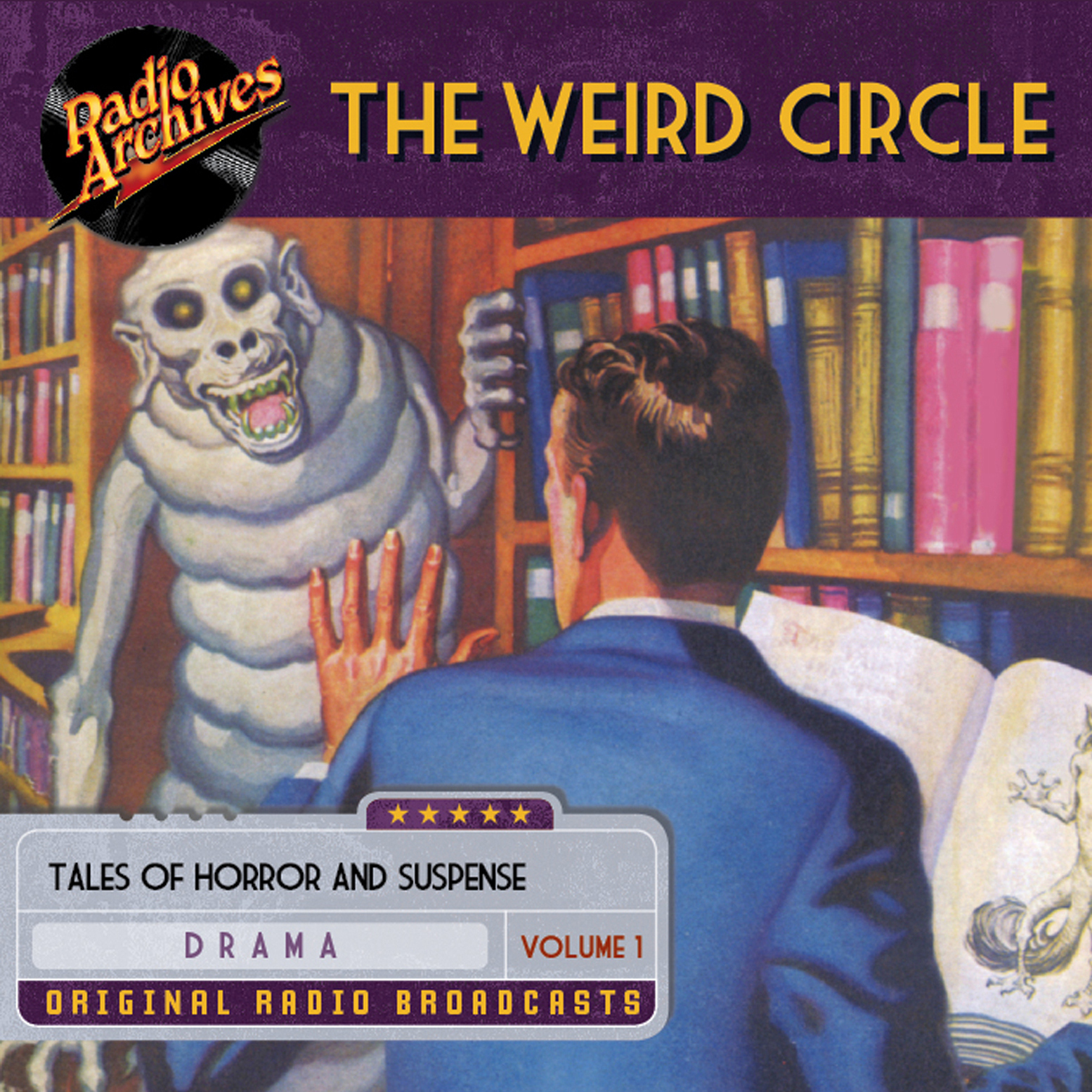 Printable Weird Circle, Volume 1 Audiobook Cover Art