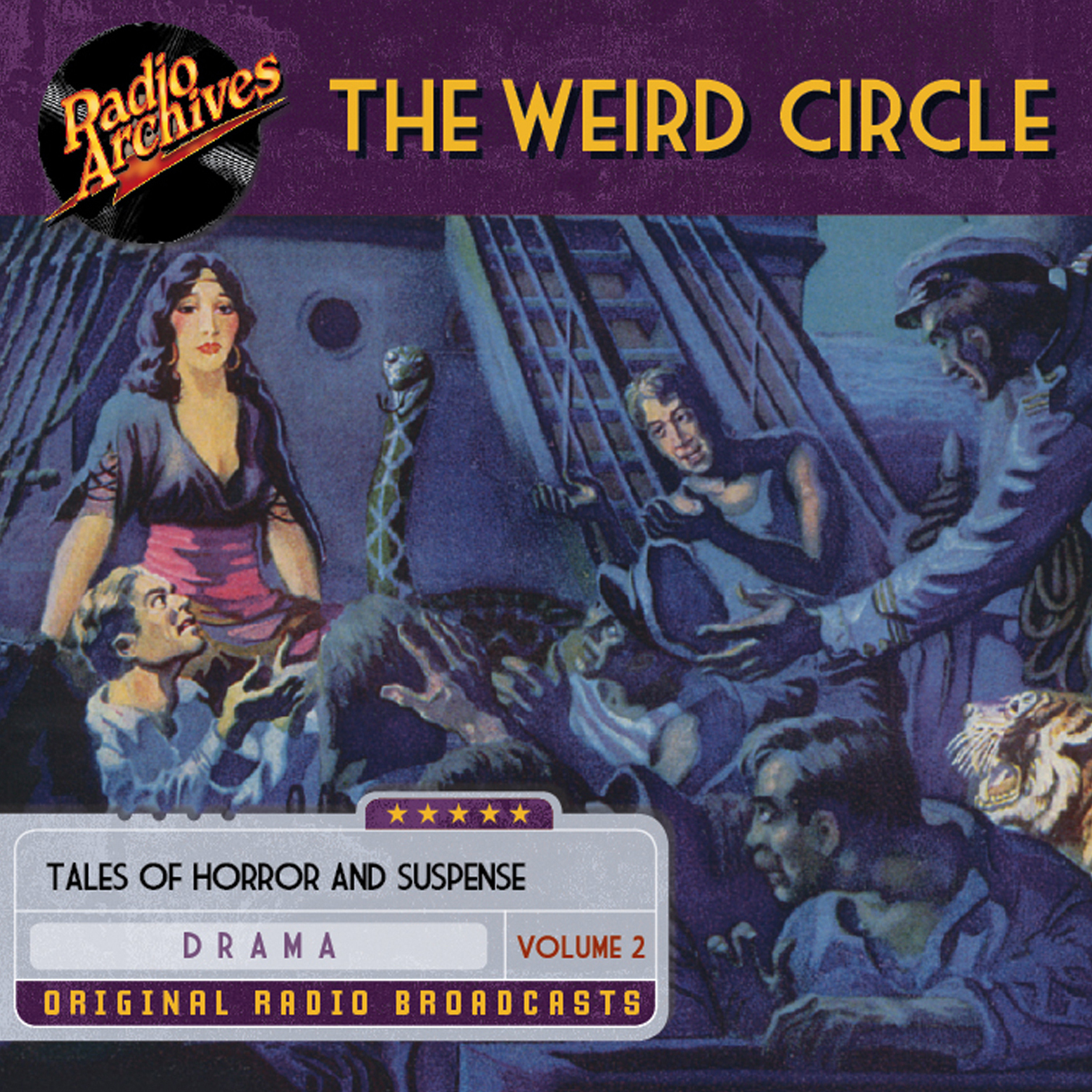 Printable Weird Circle, Volume 2 Audiobook Cover Art