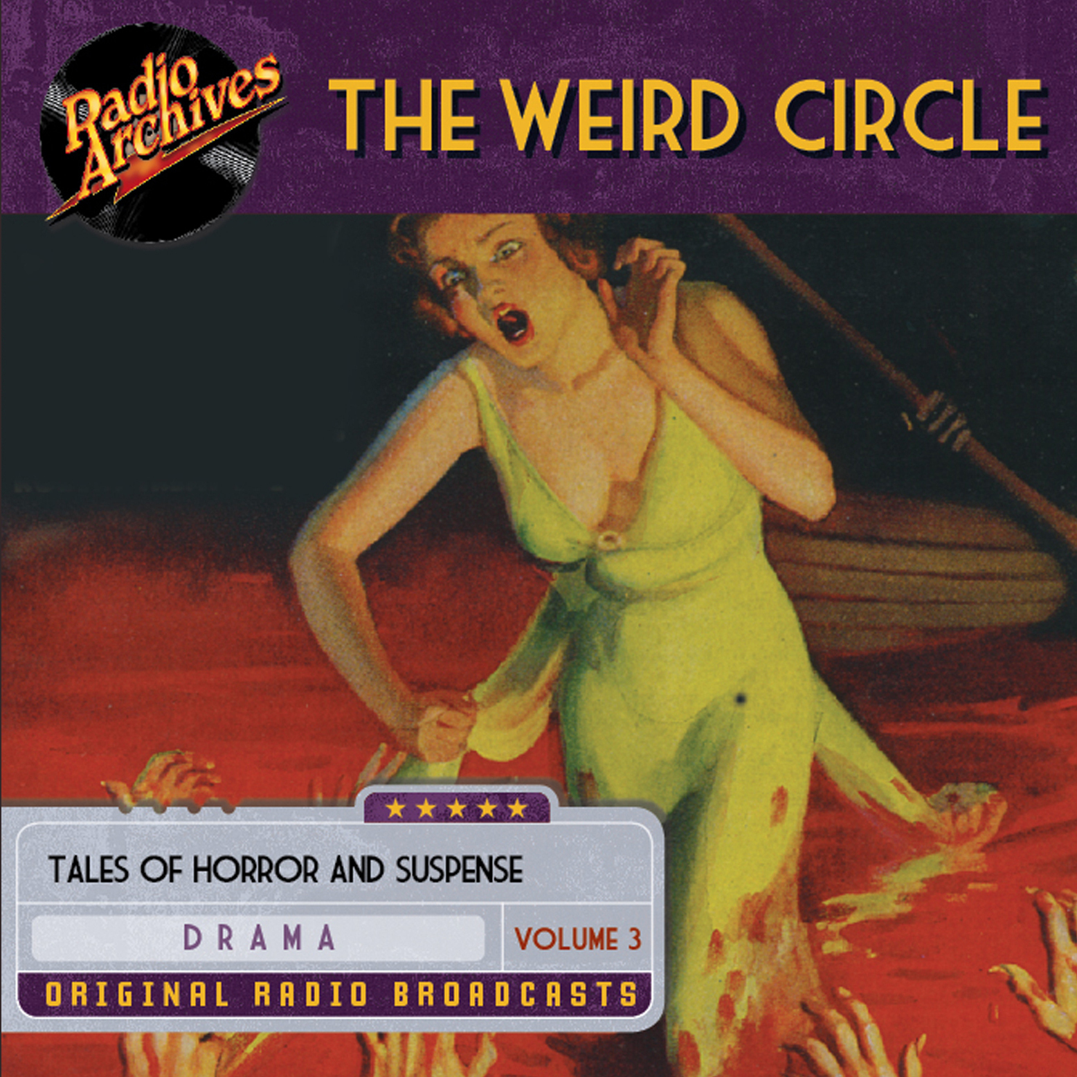 Printable Weird Circle, Volume 3 Audiobook Cover Art