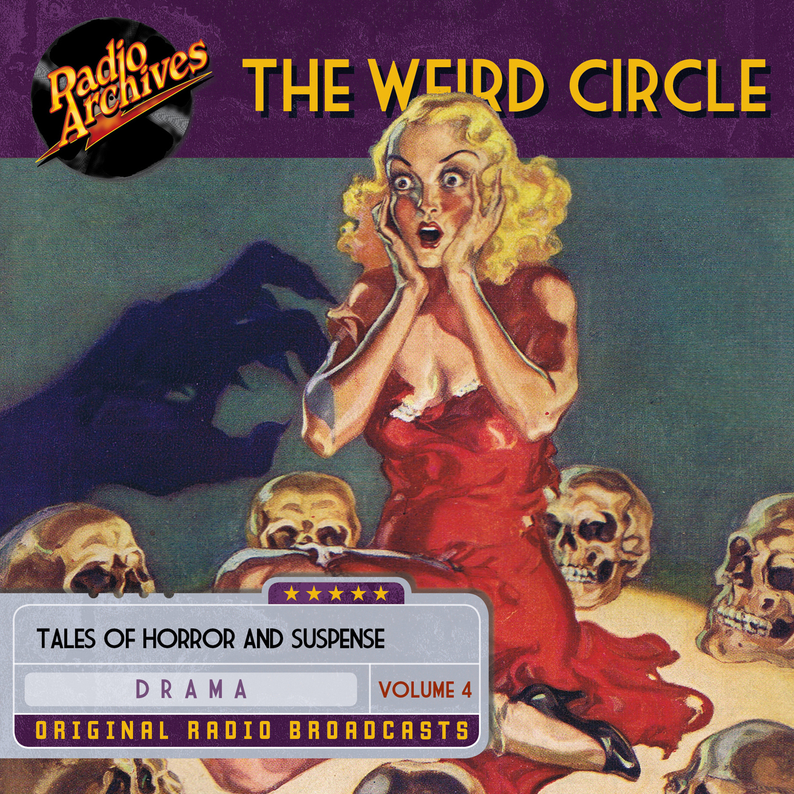 Printable Weird Circle, Volume 4 Audiobook Cover Art