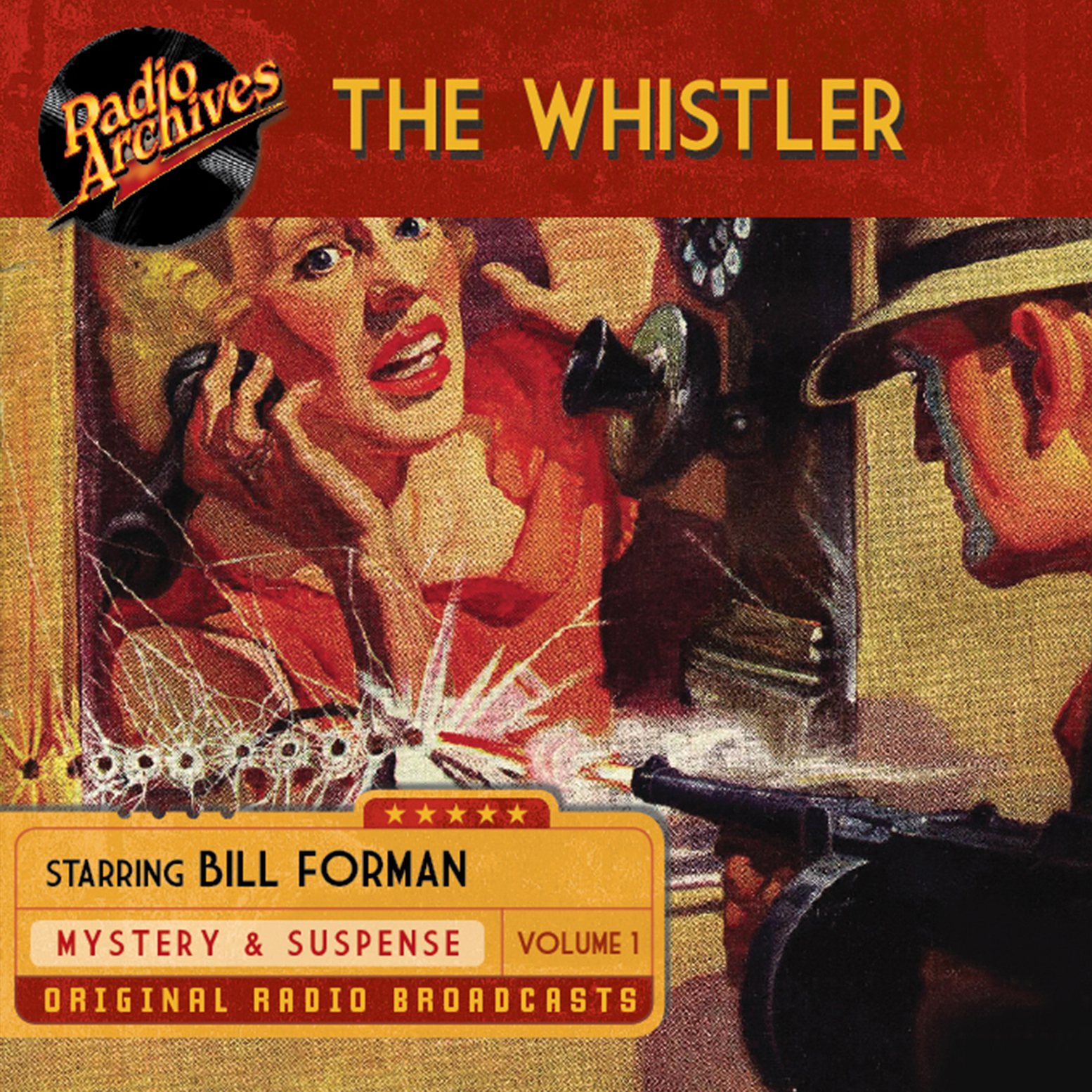Printable Whistler, Volume 1 Audiobook Cover Art