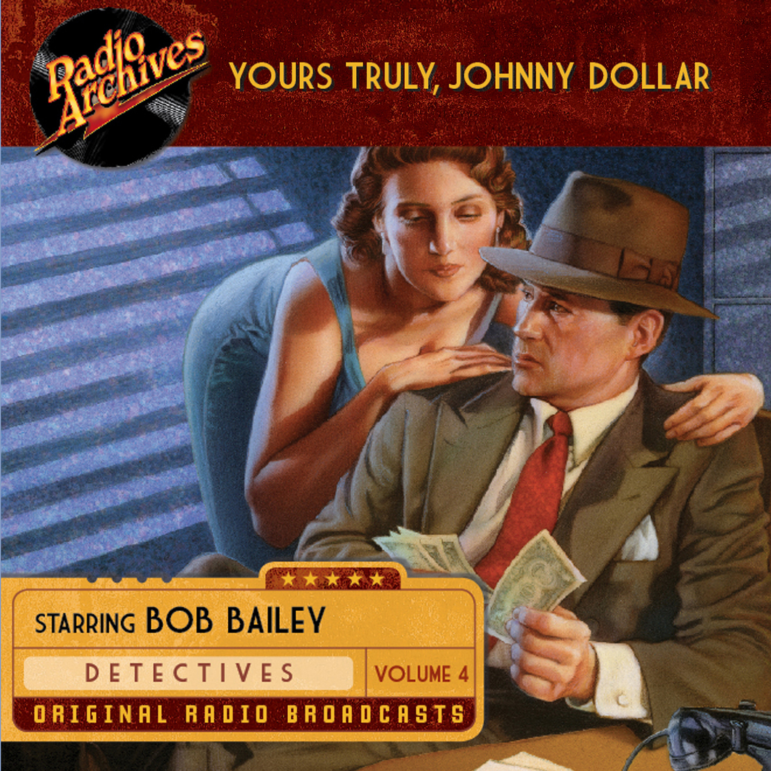 Printable Yours Truly, Johnny Dollar, Volume 4 Audiobook Cover Art