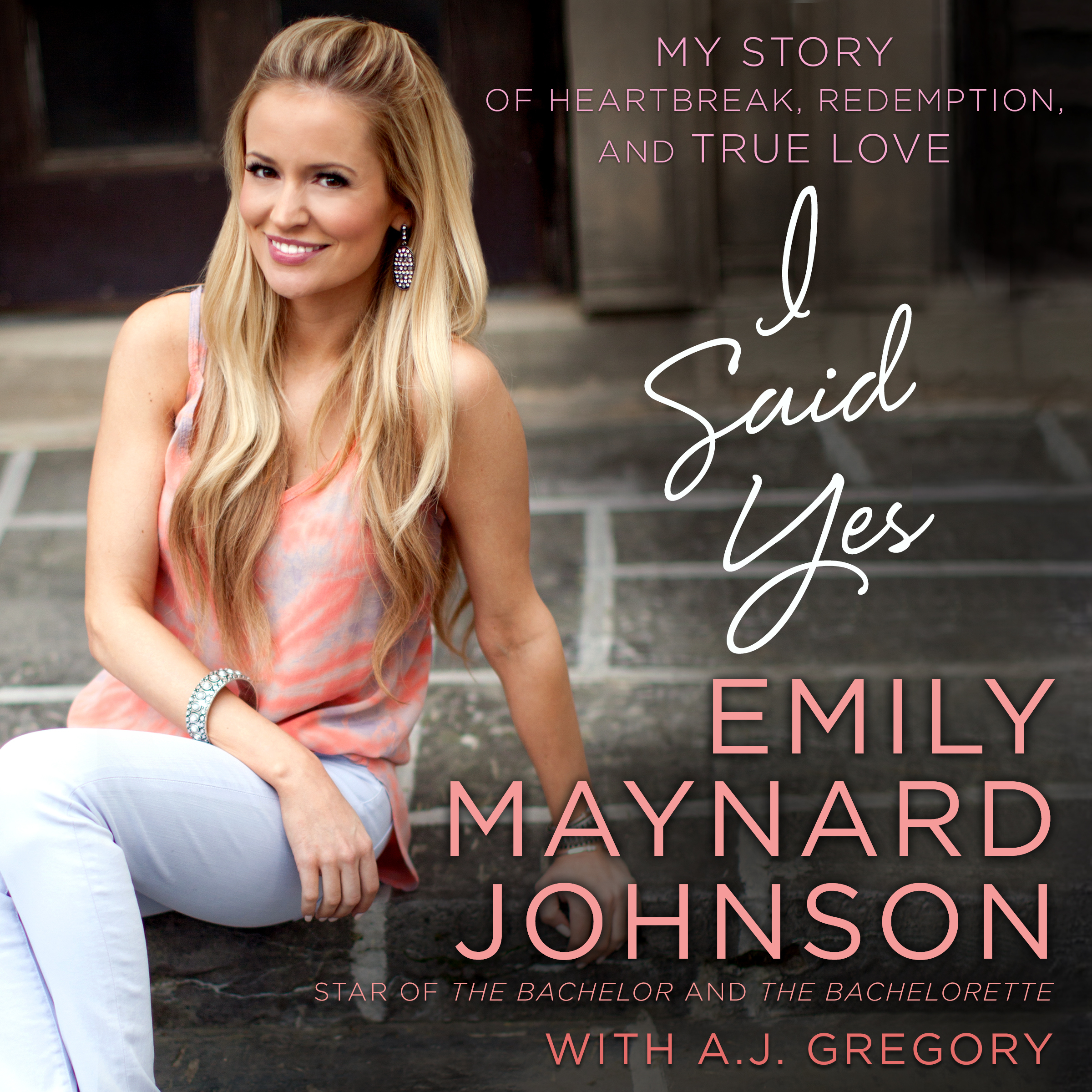 Printable I Said Yes: My Story of Heartbreak, Redemption, and True Love Audiobook Cover Art