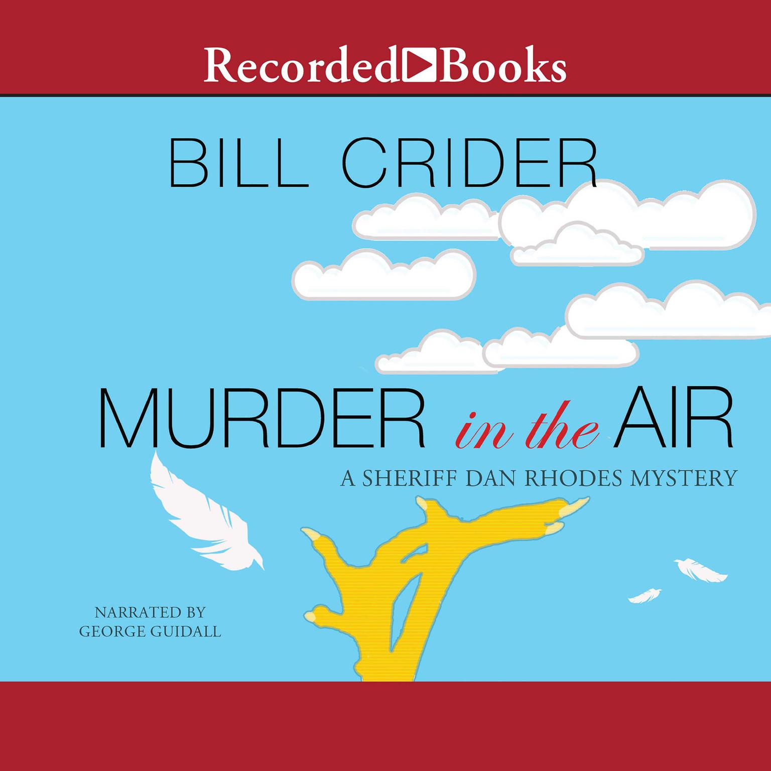 Printable Murder in the Air Audiobook Cover Art