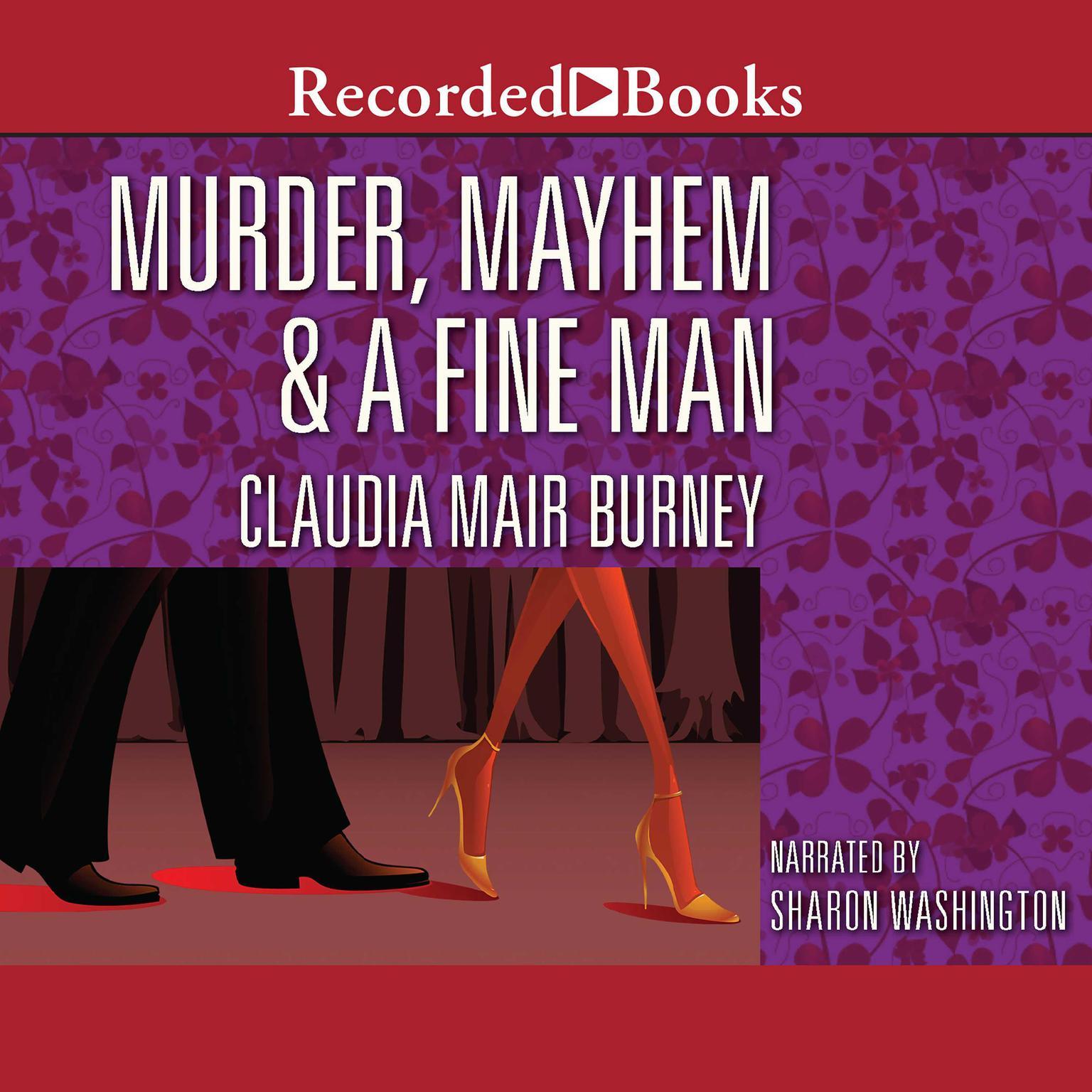 Printable Murder, Mayhem, and a Fine Man Audiobook Cover Art