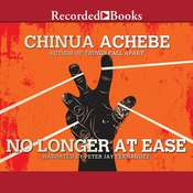 No Longer at Ease, by Chinua Achebe